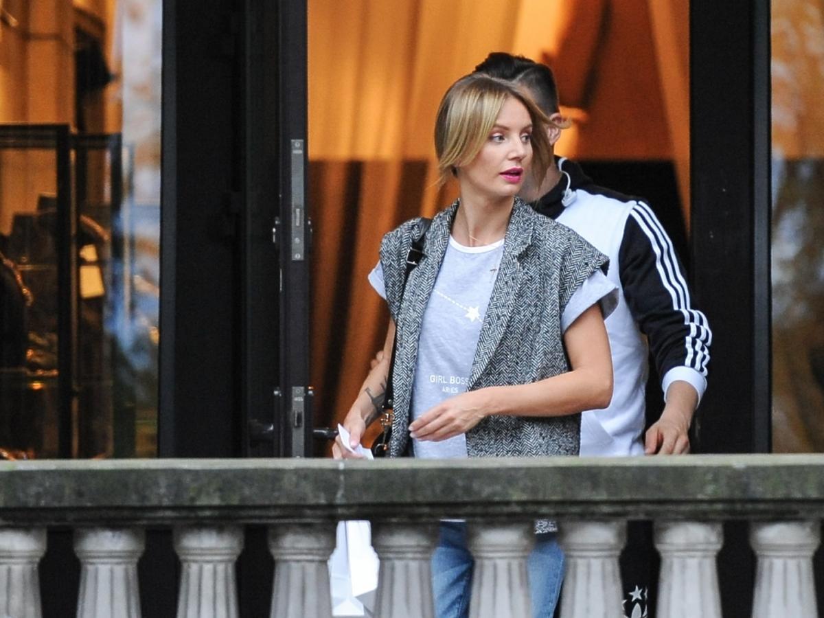 Agnieszka Szulim na ulicy