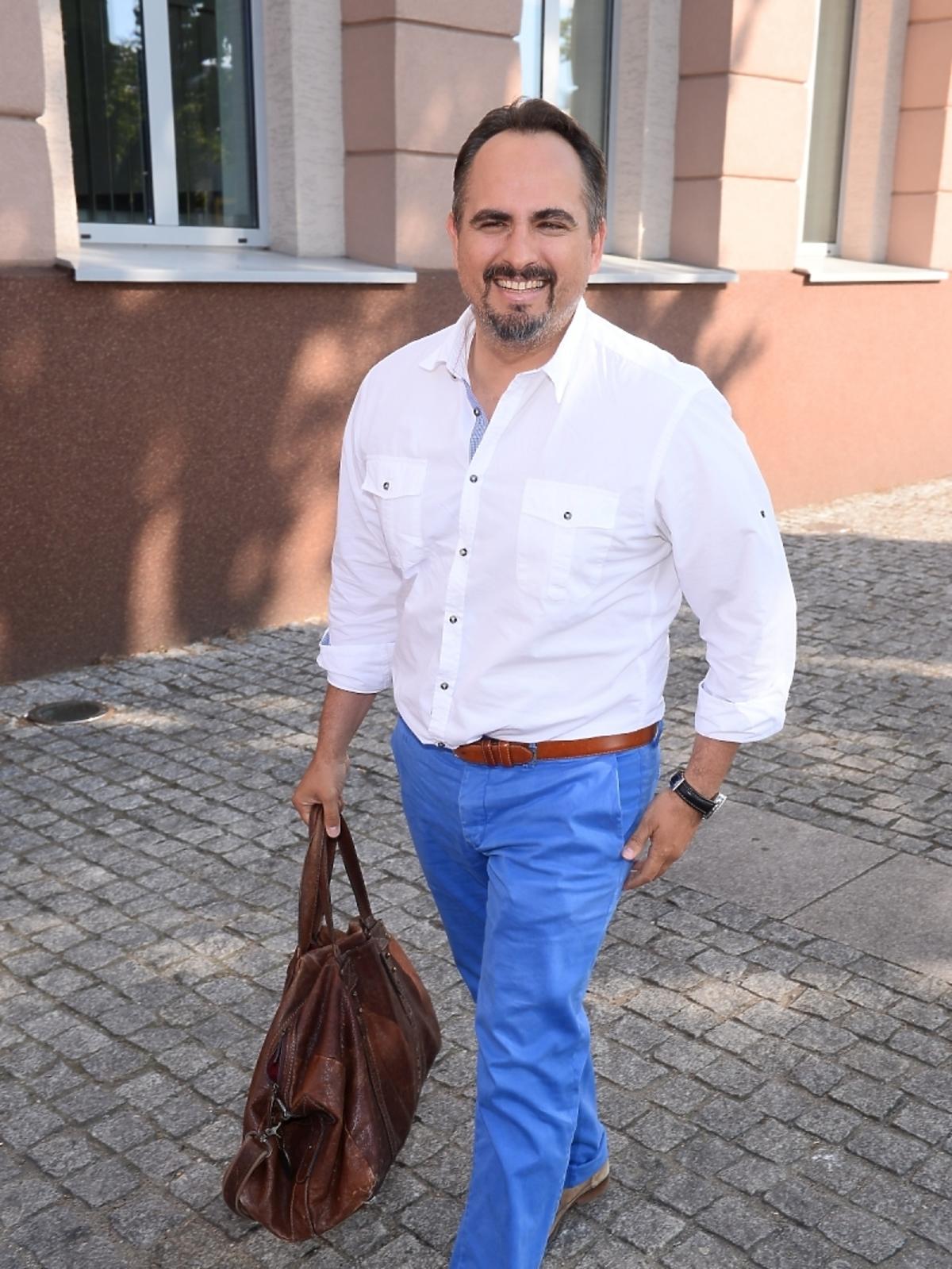 Agustin Egurrola mecz TVP TVN 2015