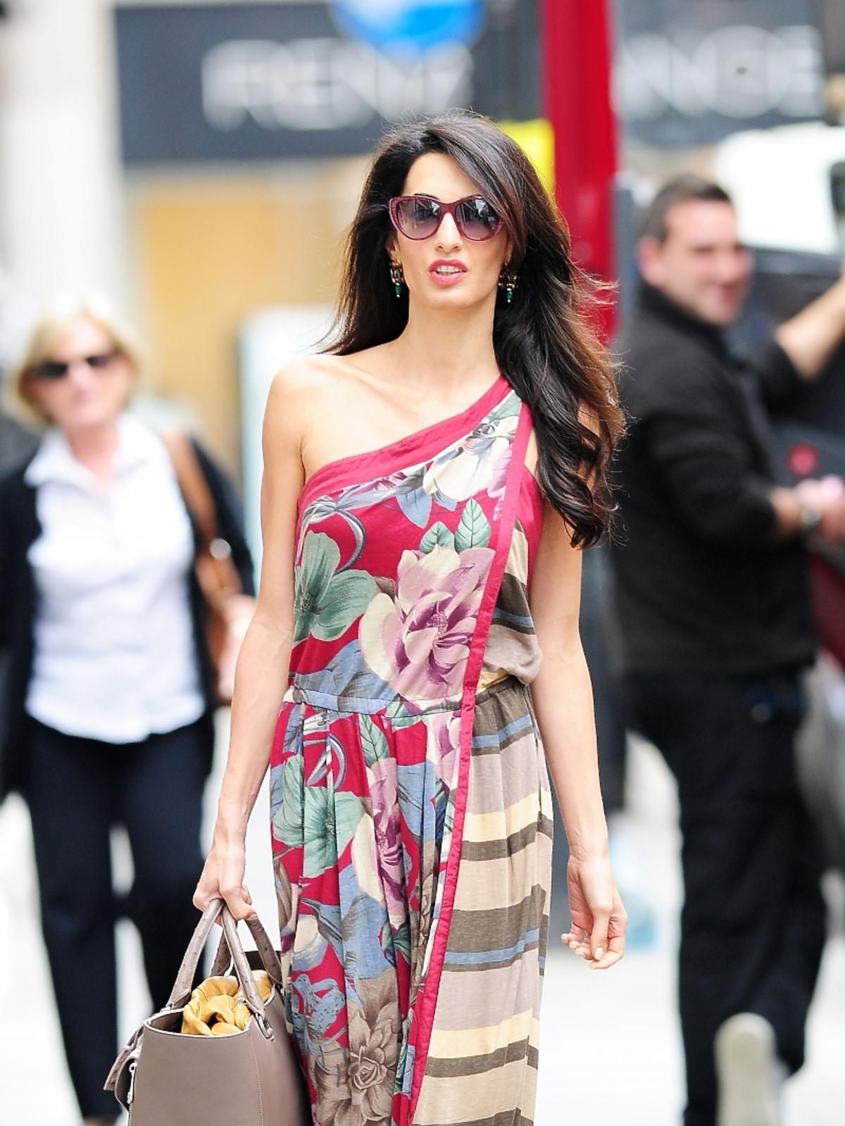 Amal Alamuddin przyszła żona George'a Clooneya
