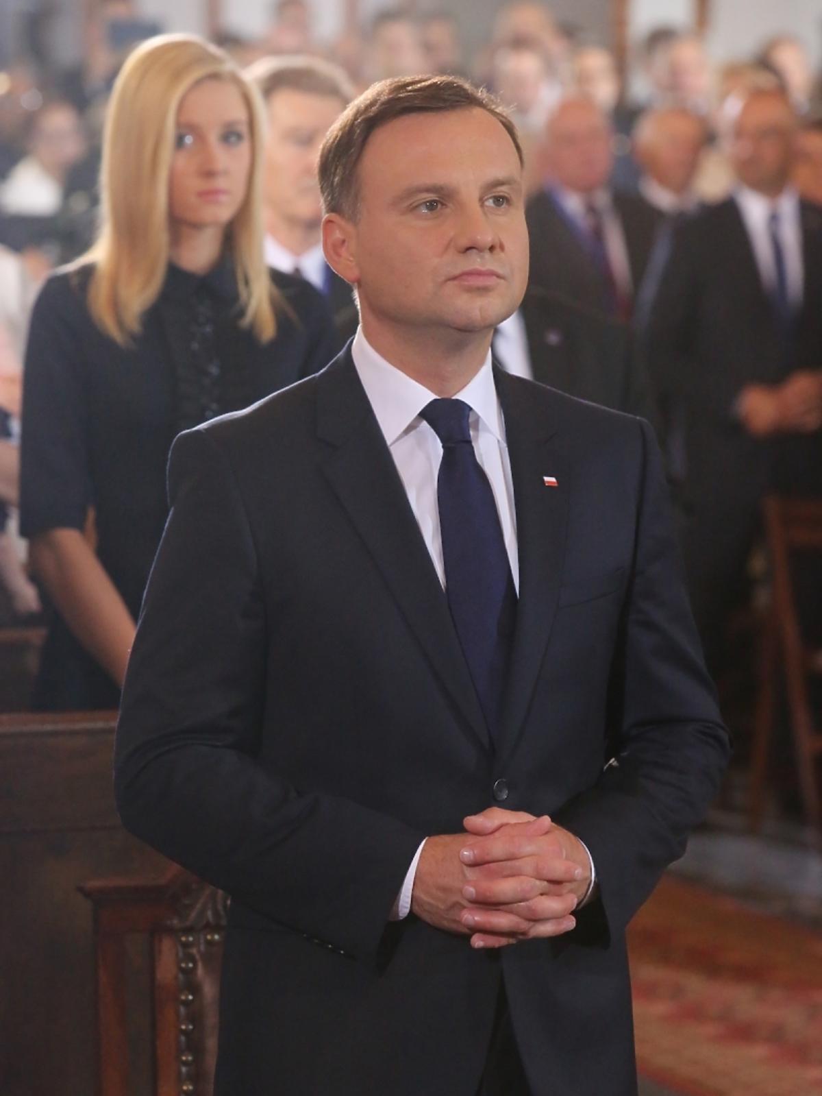 Andrzej Duda na zaprzysiężeniu