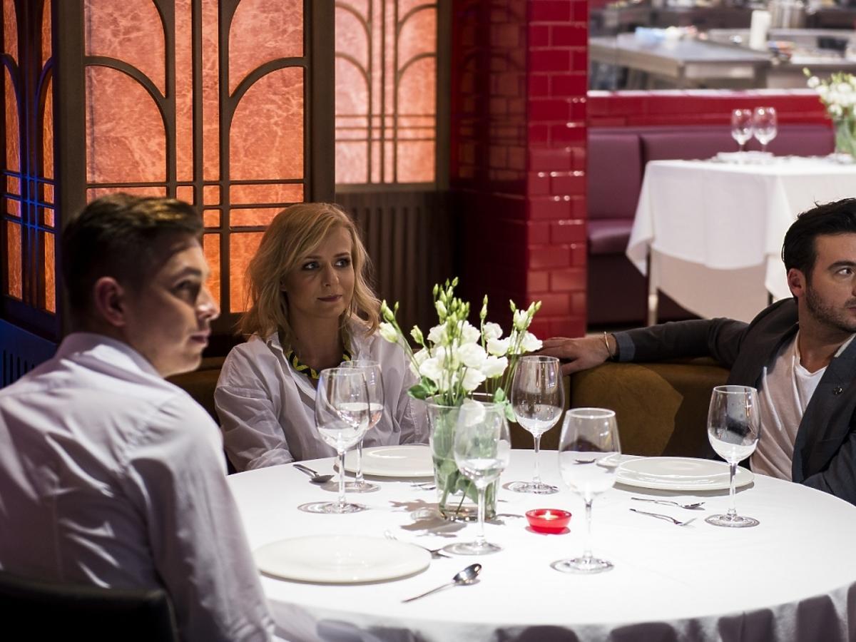Aneta Zając i Stefano Terrazzino w Hell's Kitchen 2