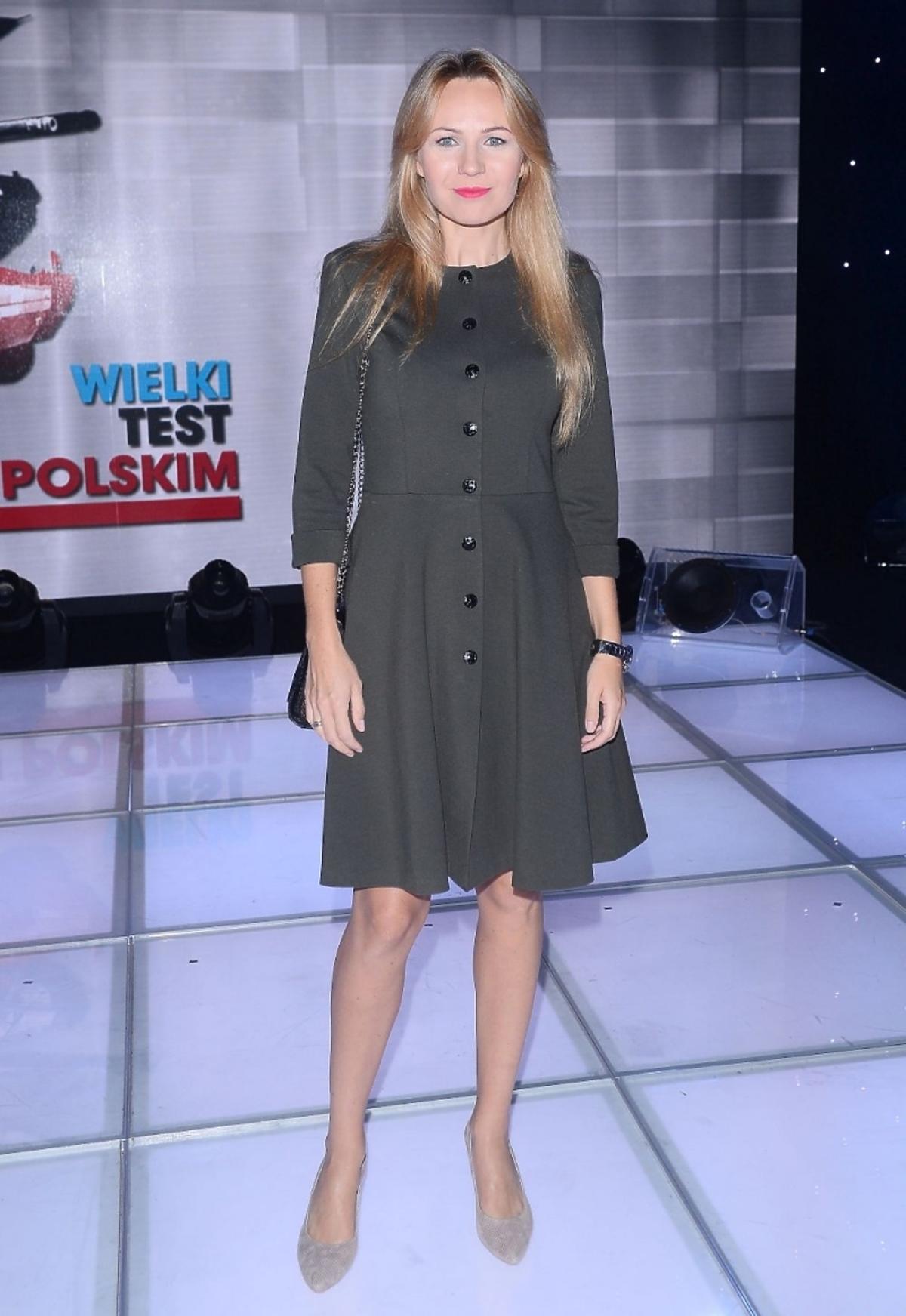 Anna Guzik na teście wiedzy o Wojsk Polskim