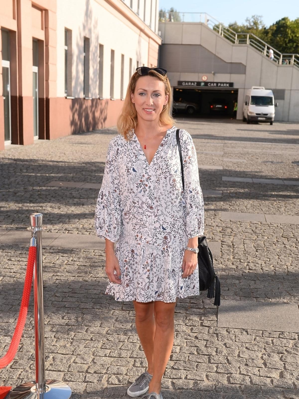 Anna Kalczyńska mecz Gwiazdy TVP kontra Gwiazdy TVN 2015