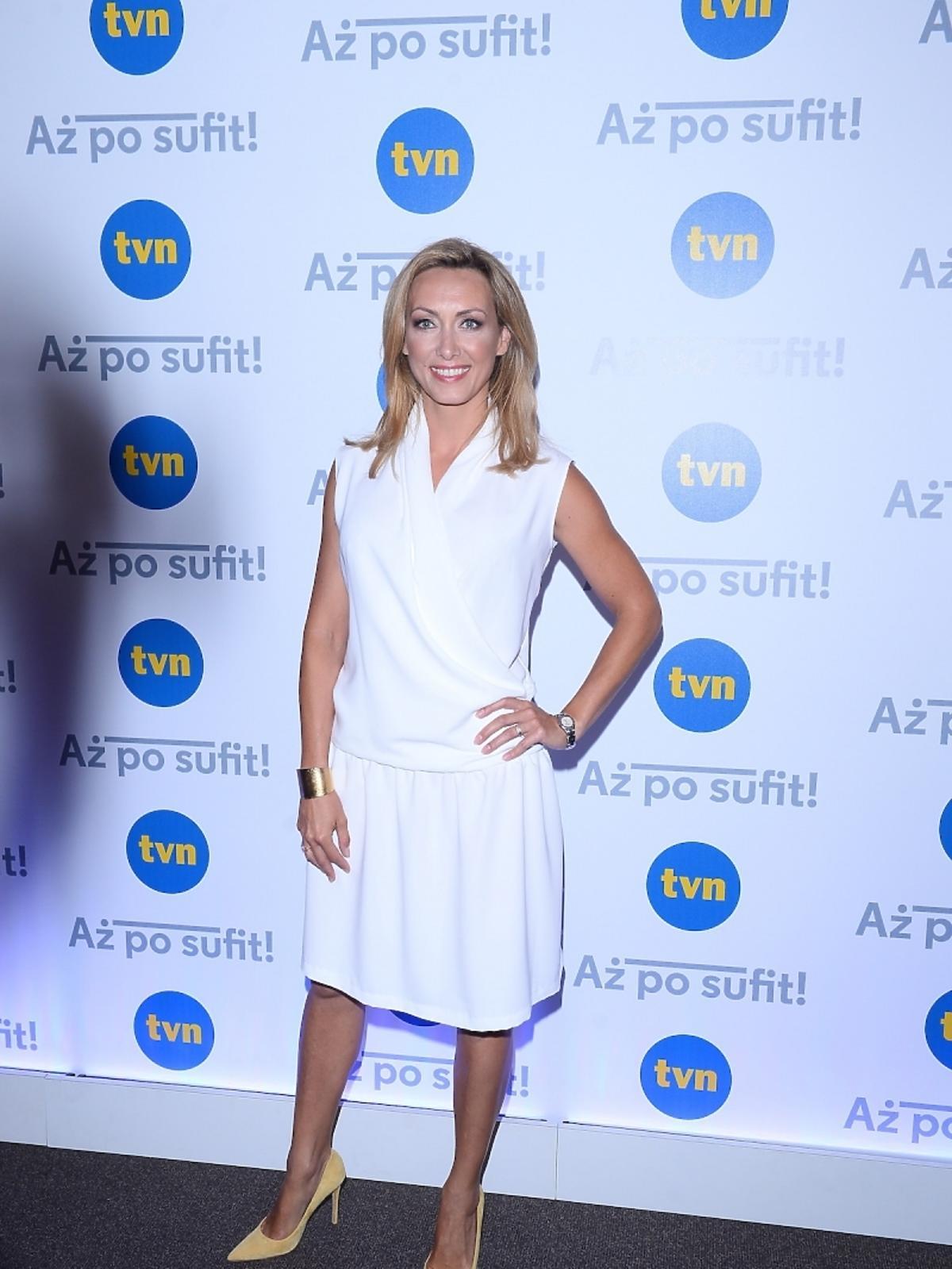 Anna Kalczyńska na konferencji serialu