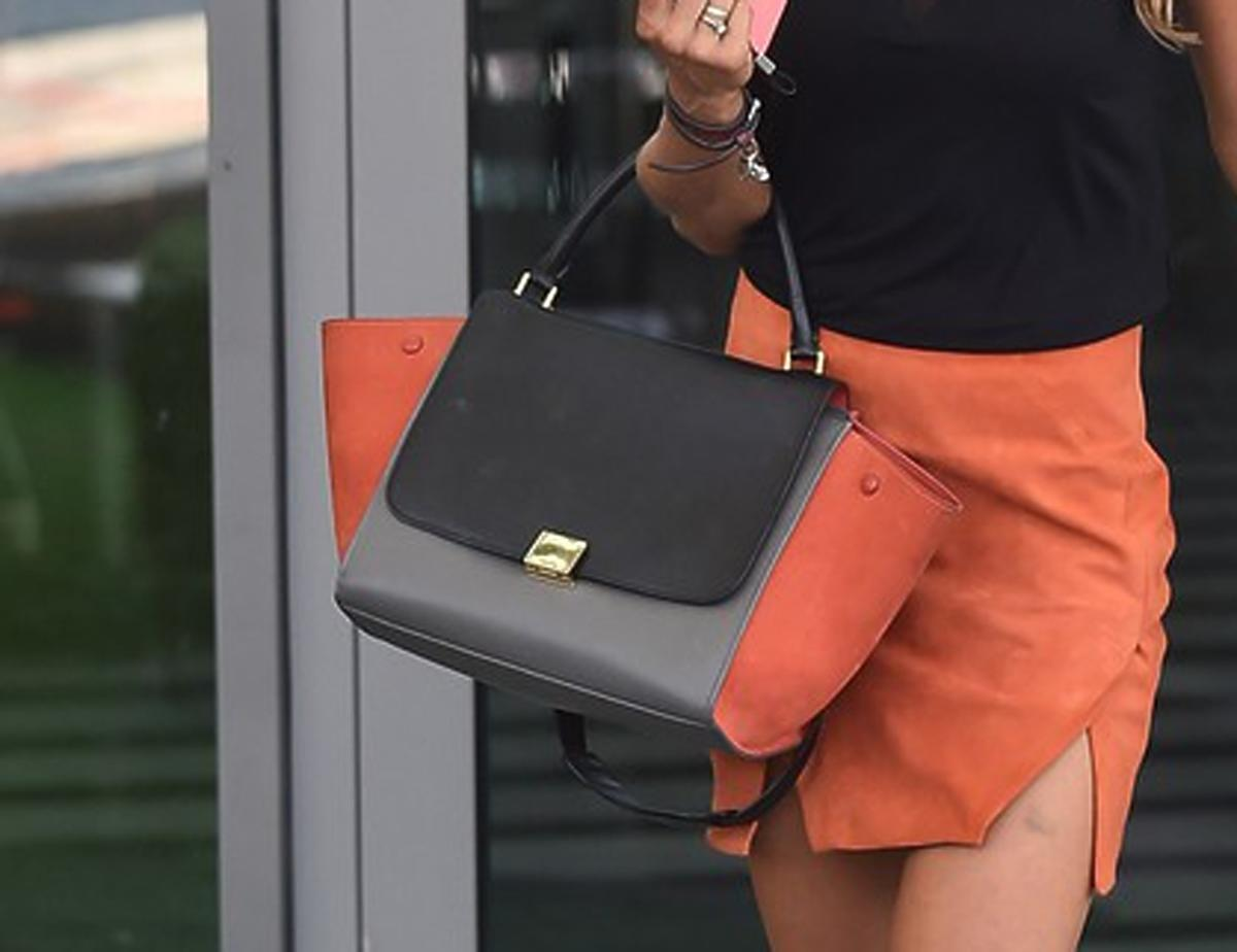 Anna Lewandowska z torbą Celine