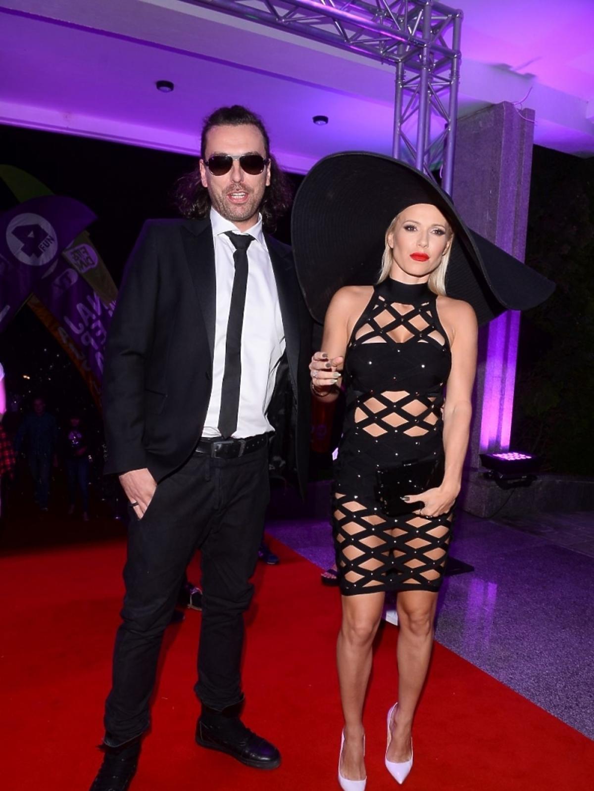 Doda i Emil Haidar na imprezie 4fun.tv