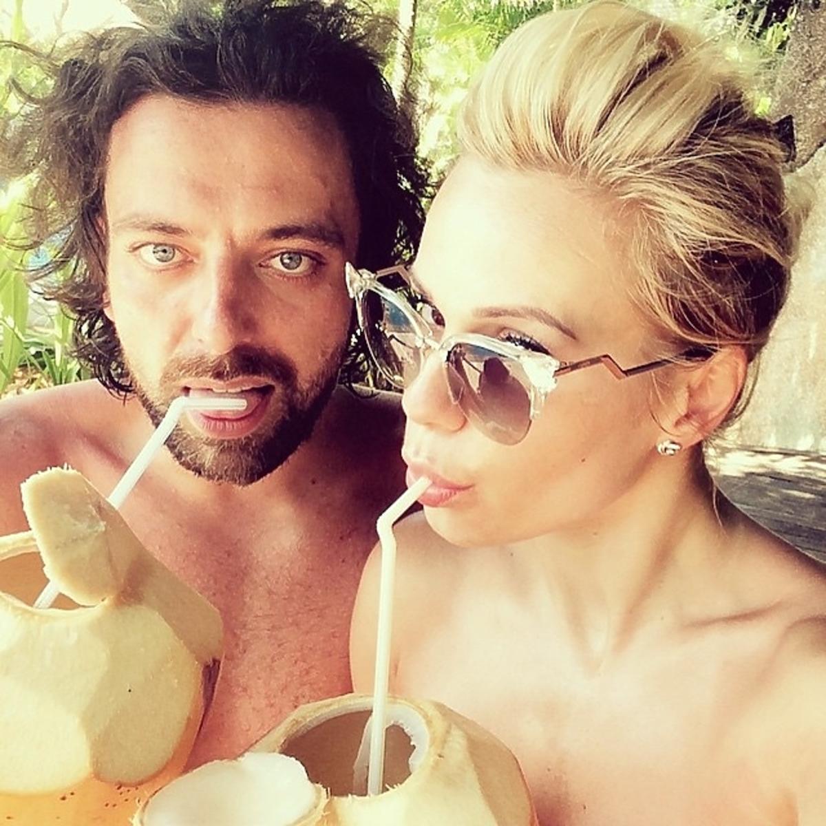 Doda i Emil Haidar na wakacjach