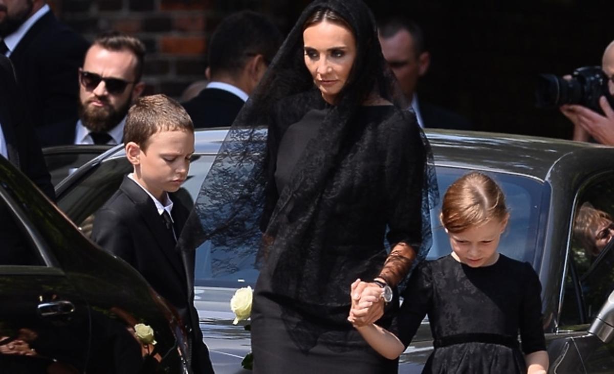 Dominika Kulczyk pożegnała swojego ojca