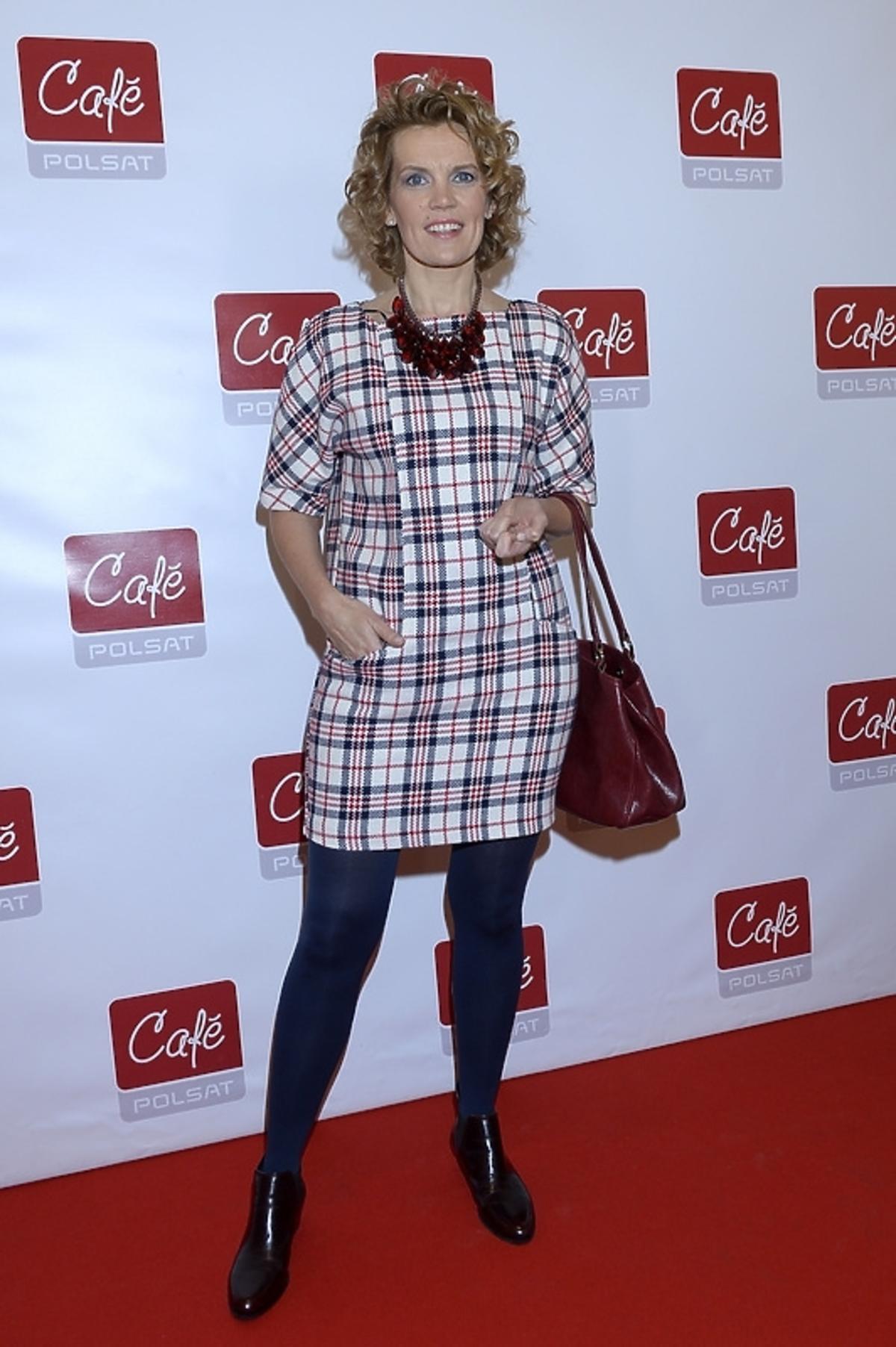 Dorota Chotecka na prezentacji jesiennej ramówki i 5 urodzinach Polsat Cafe