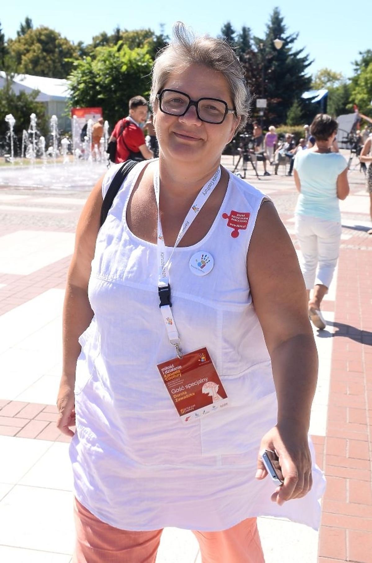 Dorota Zawadzka na Karuzeli Cooltury 2013