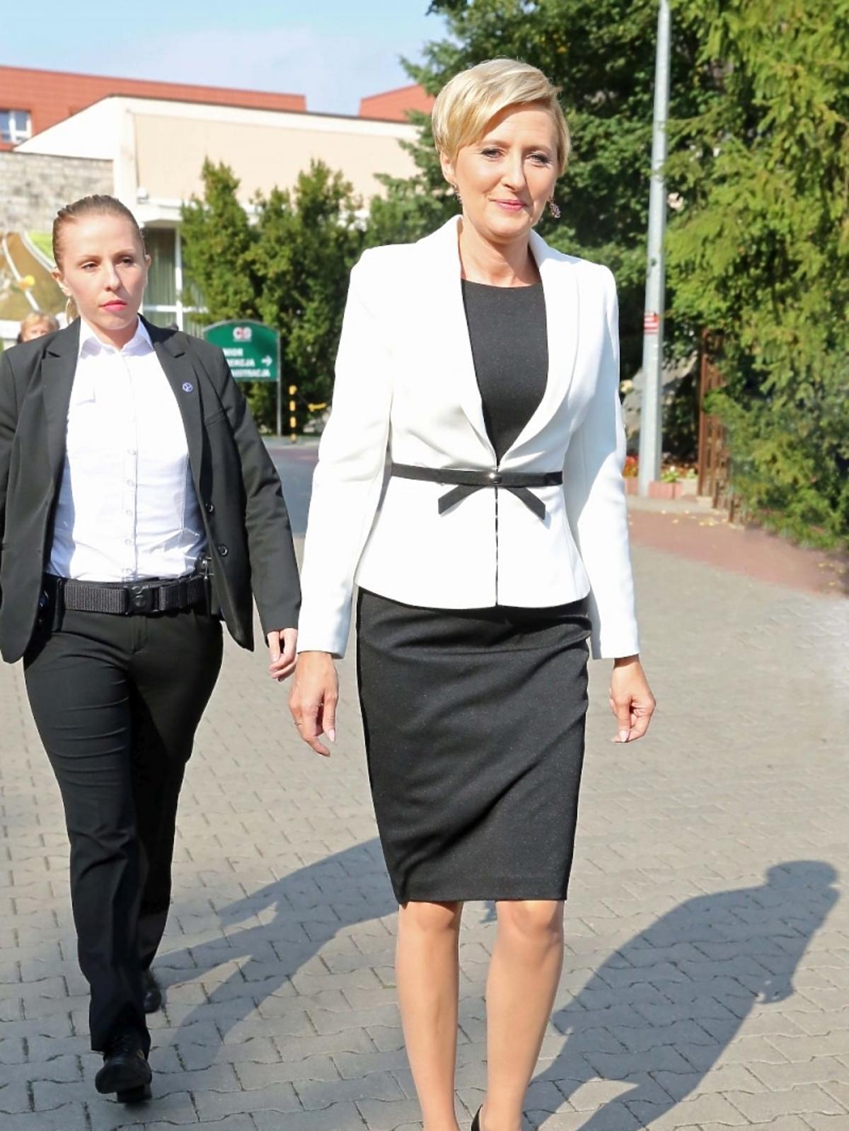 Dożynki Prezydenckie w Spale: Agata Duda w garsonce