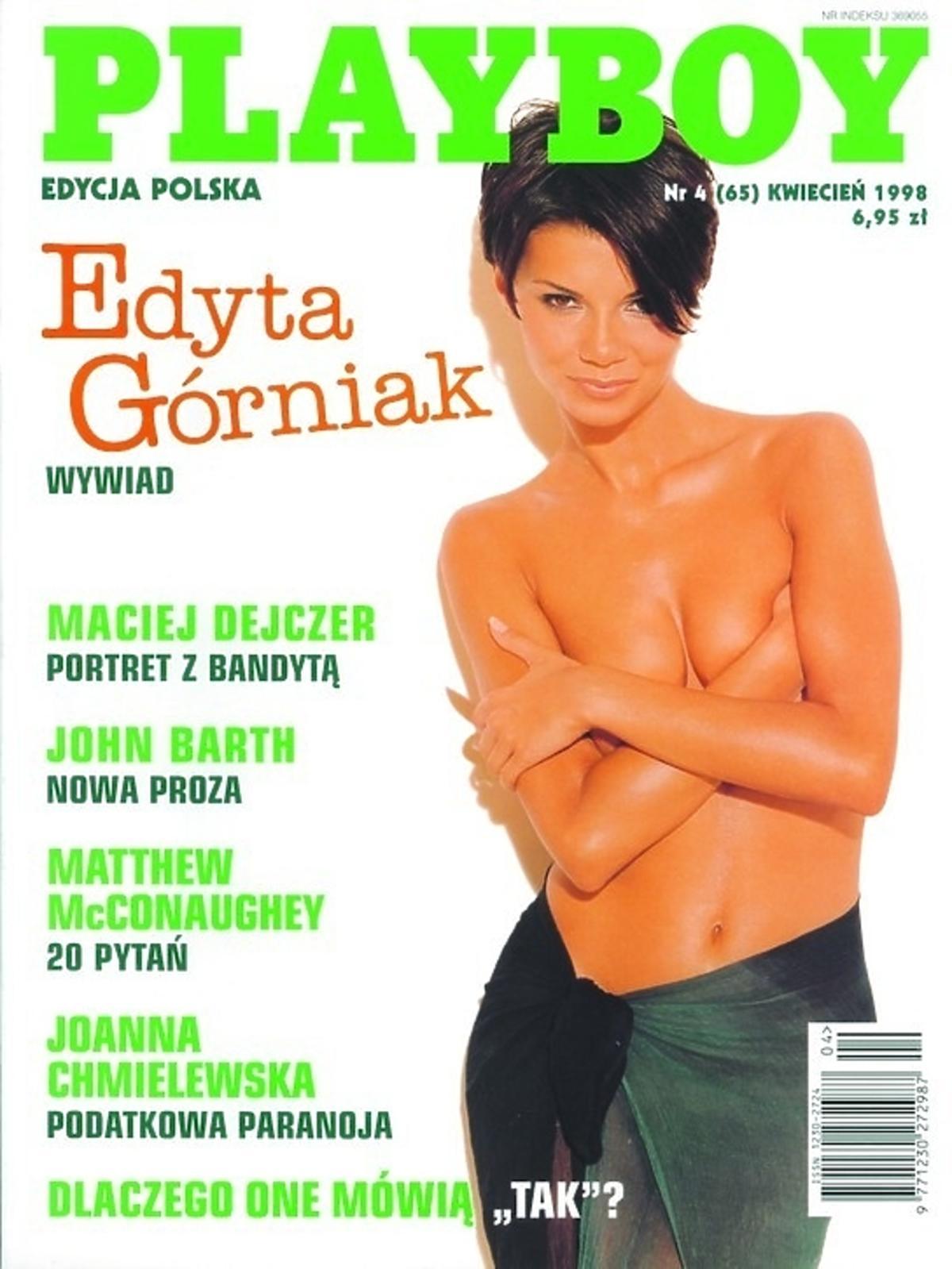 Edyta Górniak na okładce Playboya