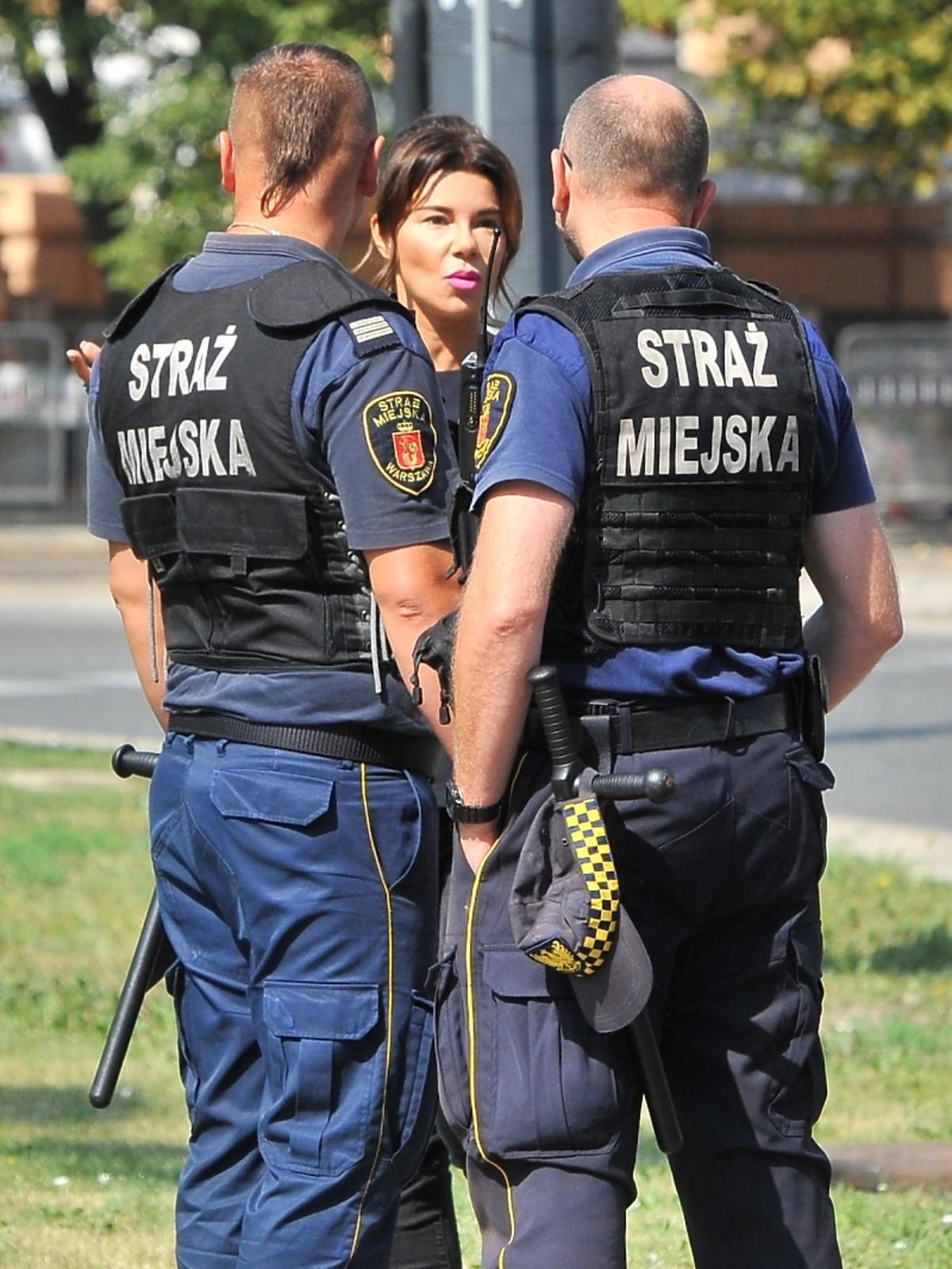 Edyta Górniak została zatrzymana przez straż miejską