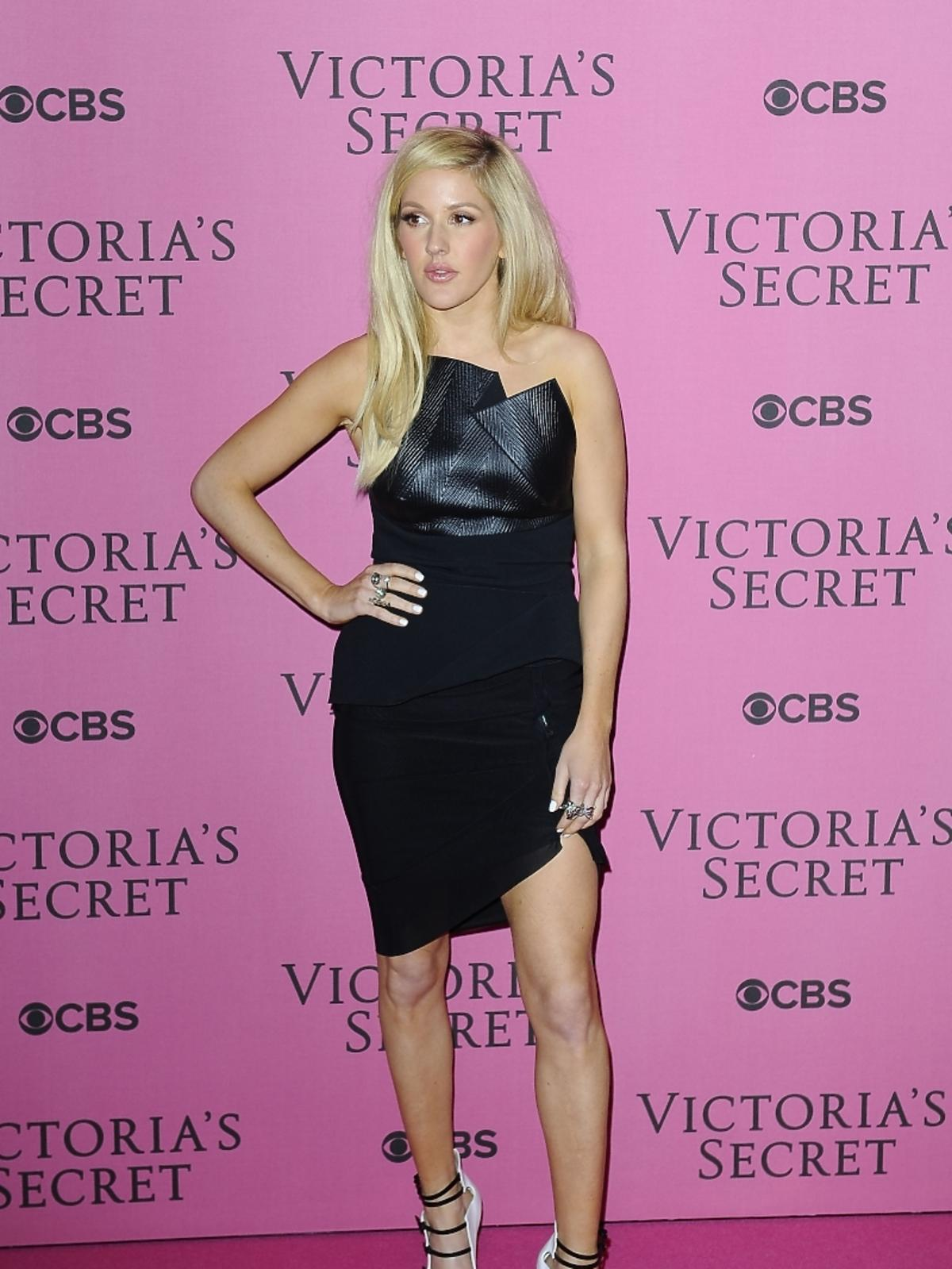 Ellie Goulding na pokazie Victoria's Secret 2014