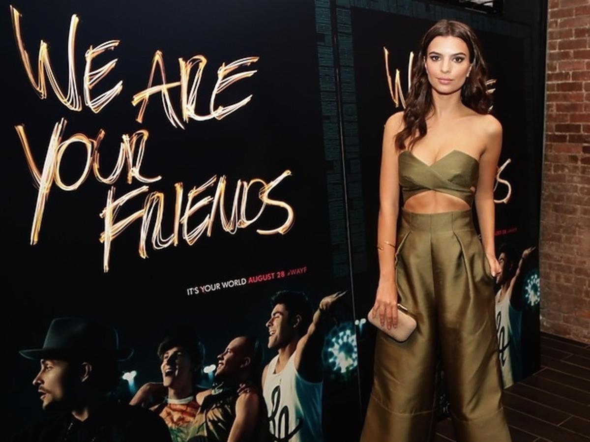 """Emily Ratajkowski, impreza promująca filma """"We Are Your Friends'' w Nowym Jorku"""