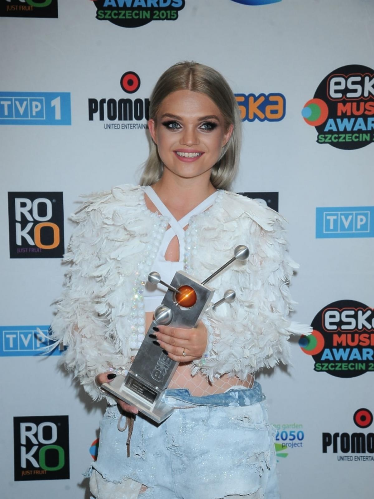 Eska Music Awards 2015 - Margaret z nagrodą