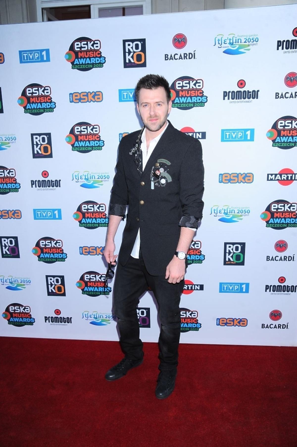 Grzegorz Hyży na nominacjach do Eska Music Awards