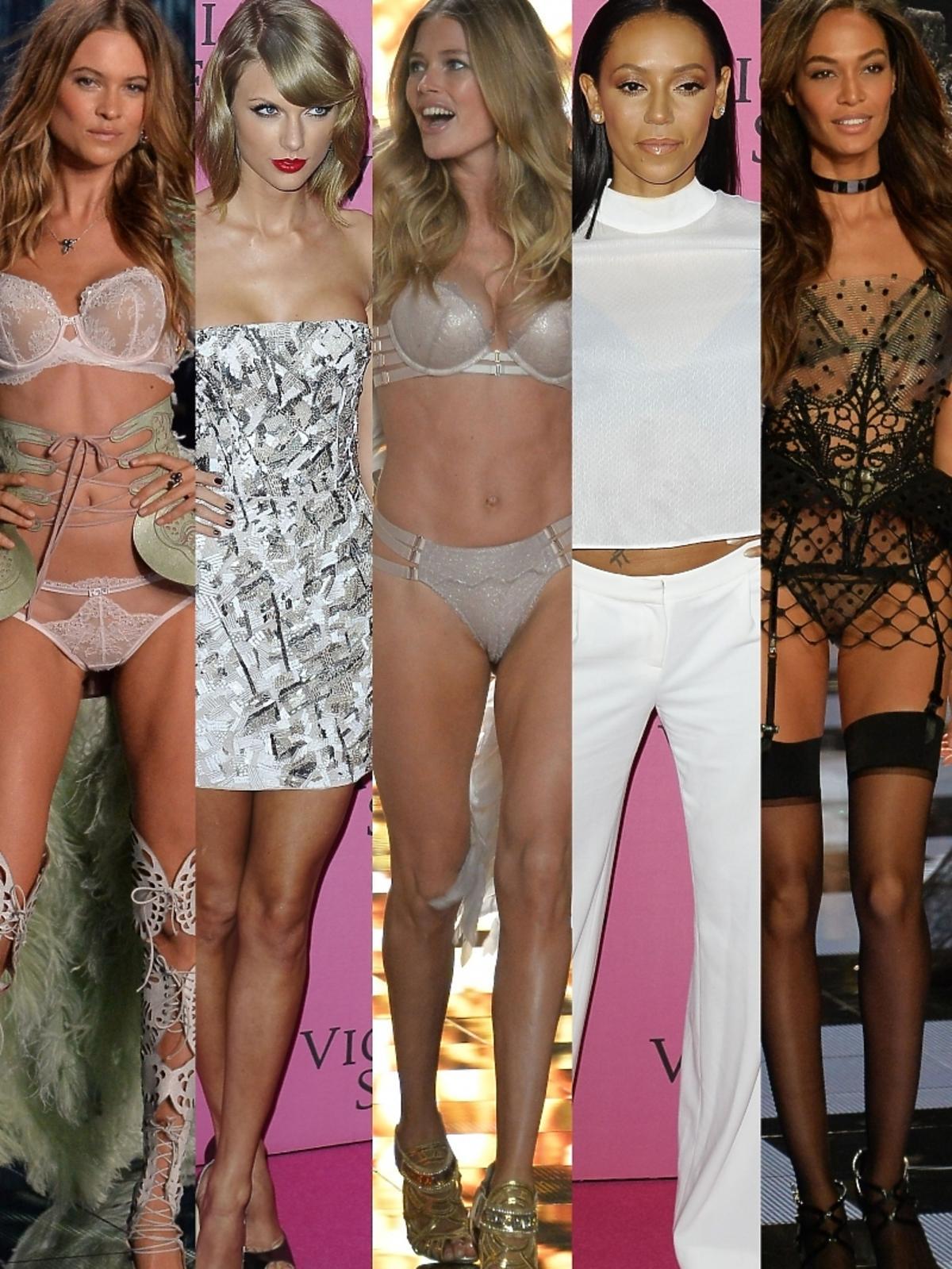 Gwiazdy i modelki na pokazie Victoria's Secret 2014