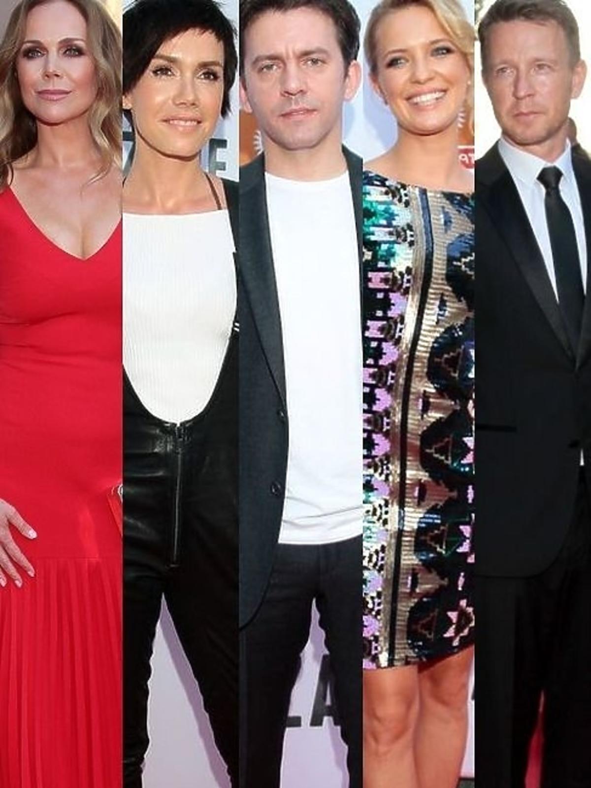 Gwiazdy na premierze serialu