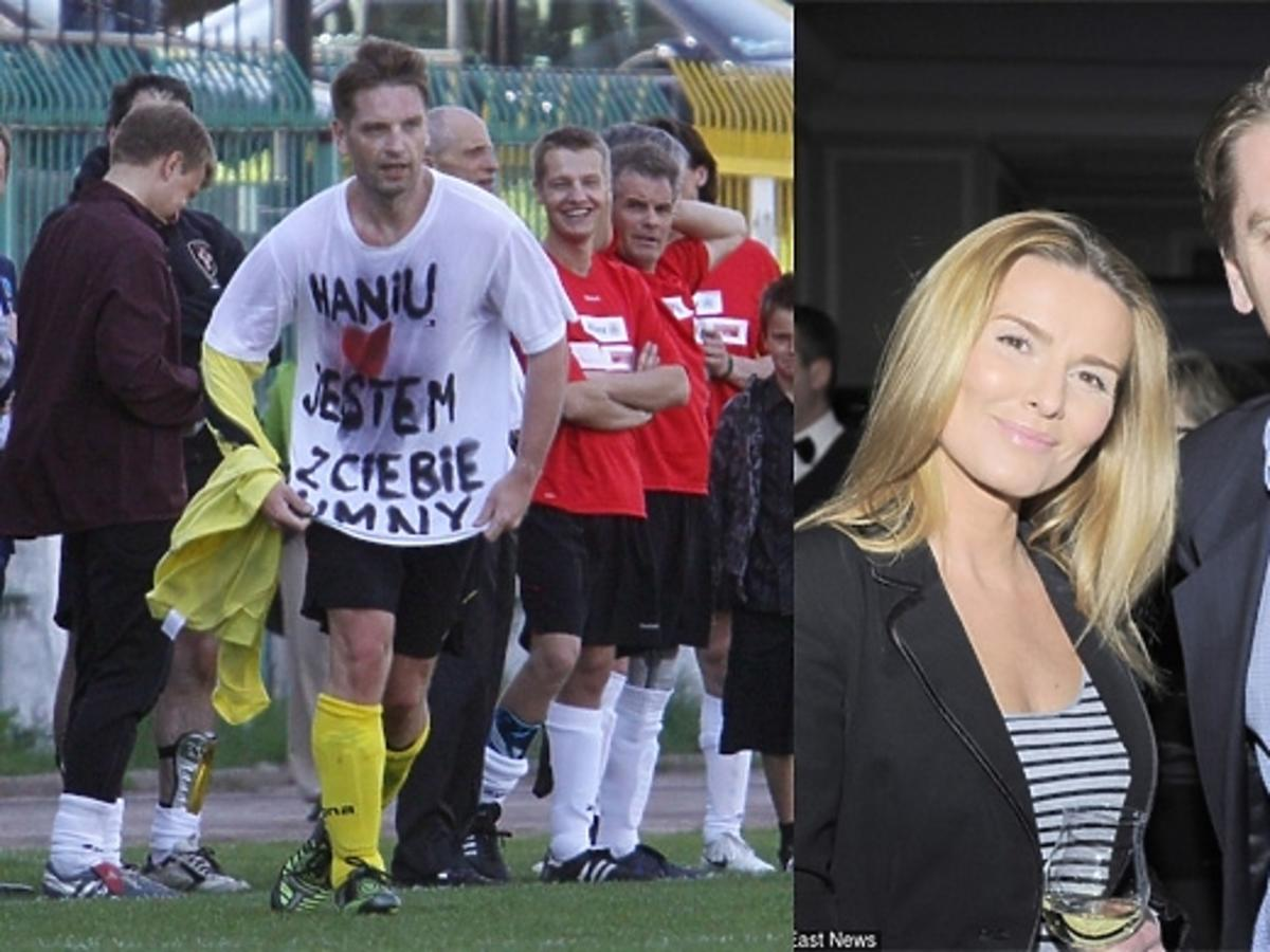 Hanna Lis i Tomasz Lis, Haniu jestem z ciebie dumny na koszulce