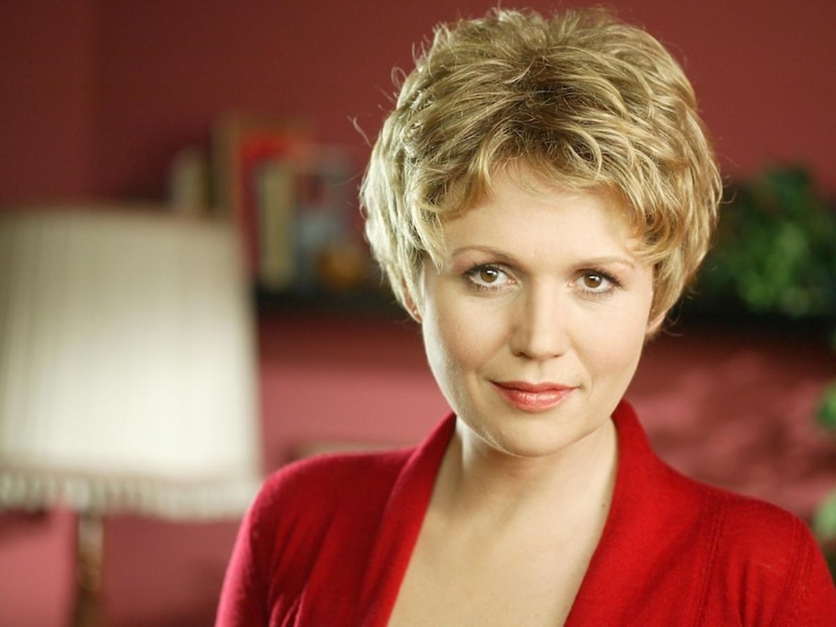 Jak wyglądała Małgorzata Pieńkowska w serialu M jak Miłość, gdy nosiła perukę?