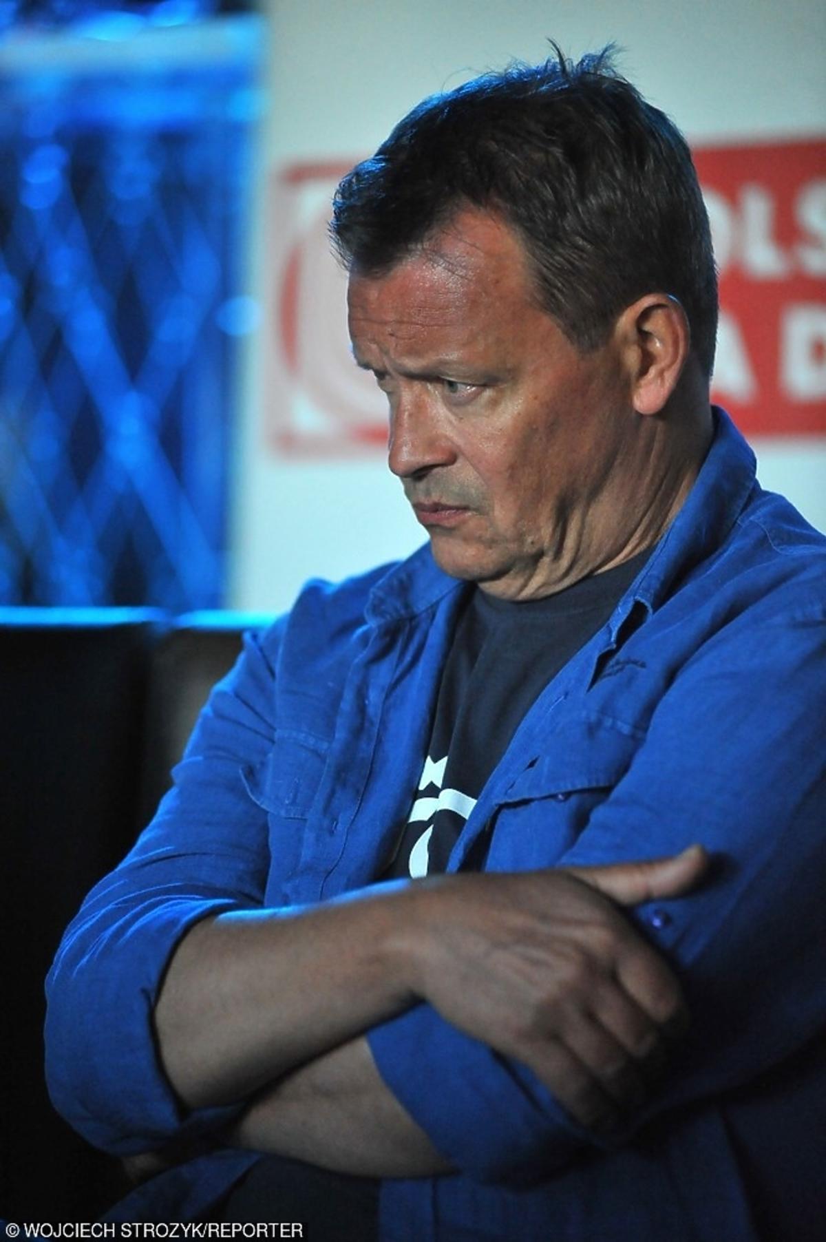 Jan Frycz wypadek