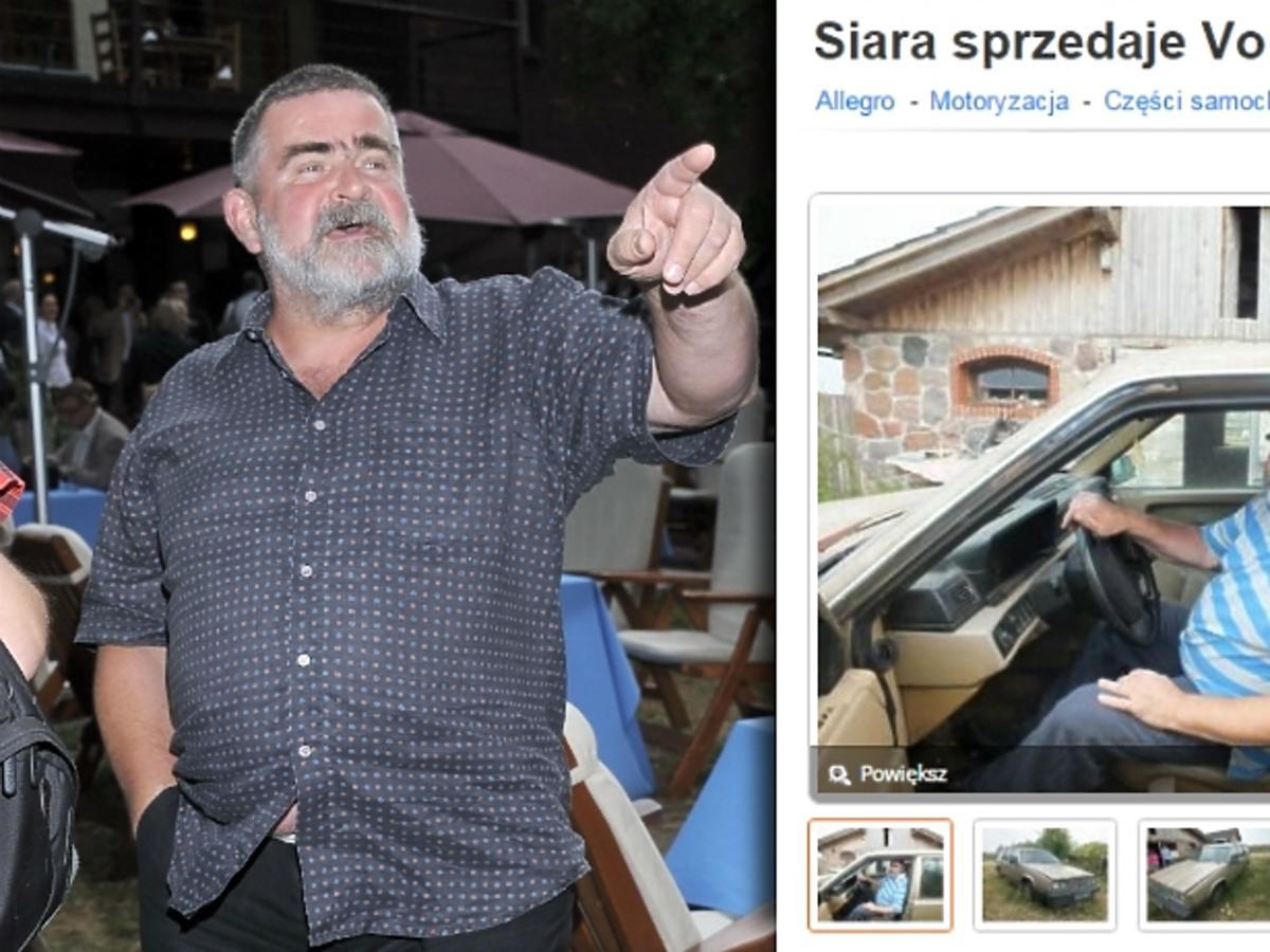 Janusz Rewiński licytuje auto - chcesz auto Siary?