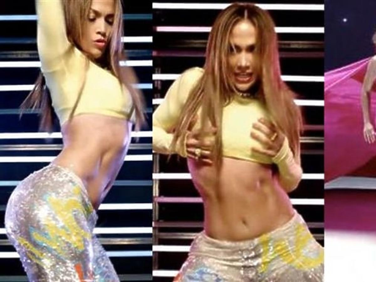 """Jennifer Lopez w teledysku """"Goin' On"""""""