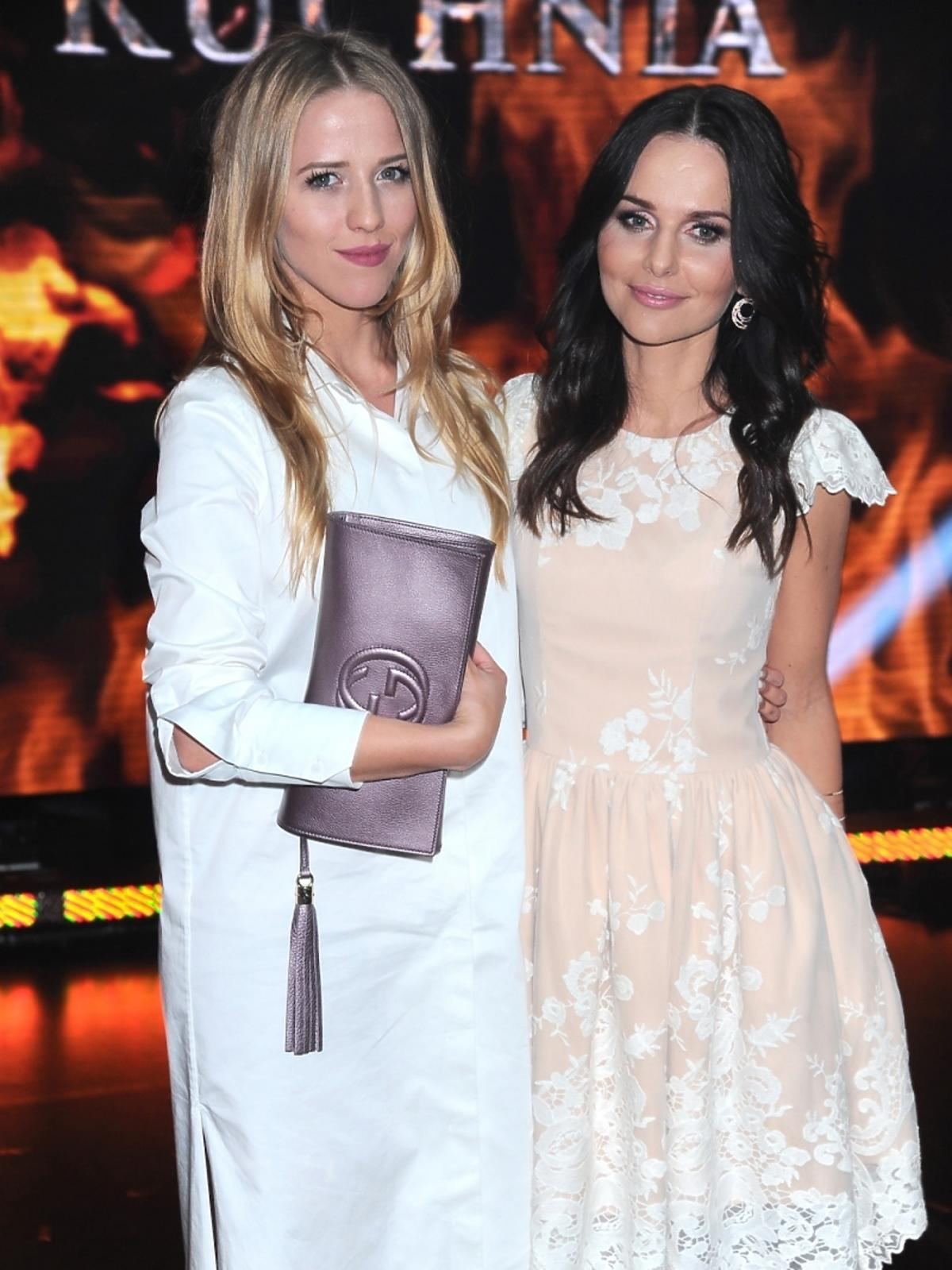 Jessica Mercedes i Paulina Sykut w finale programu Hell's Kitchen