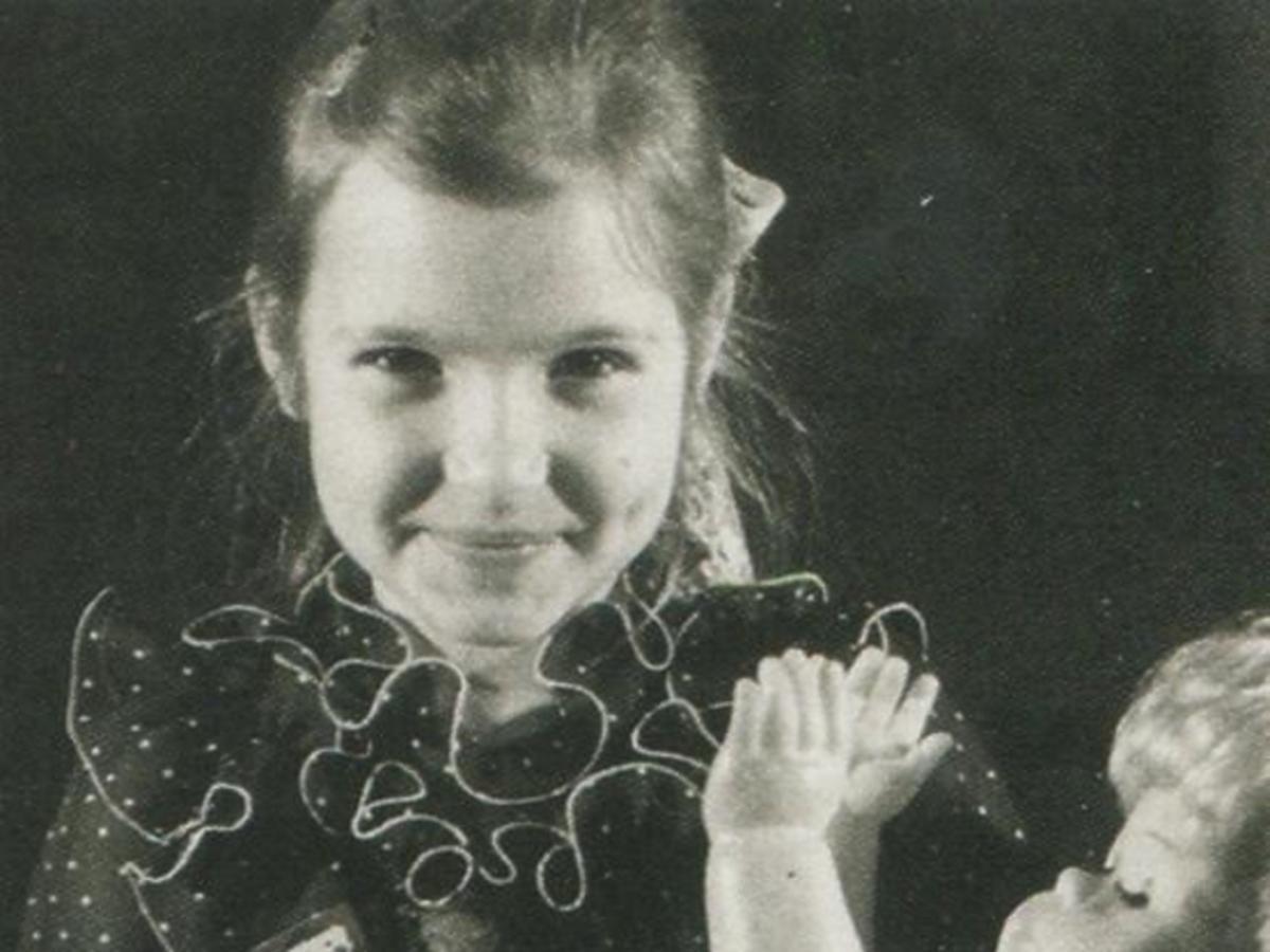 Joanna Koroniewska w dzieciństwie