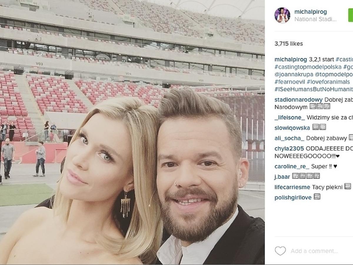 Joanna Krupa, Michał Piróg, casting do piątej edycji Top Model