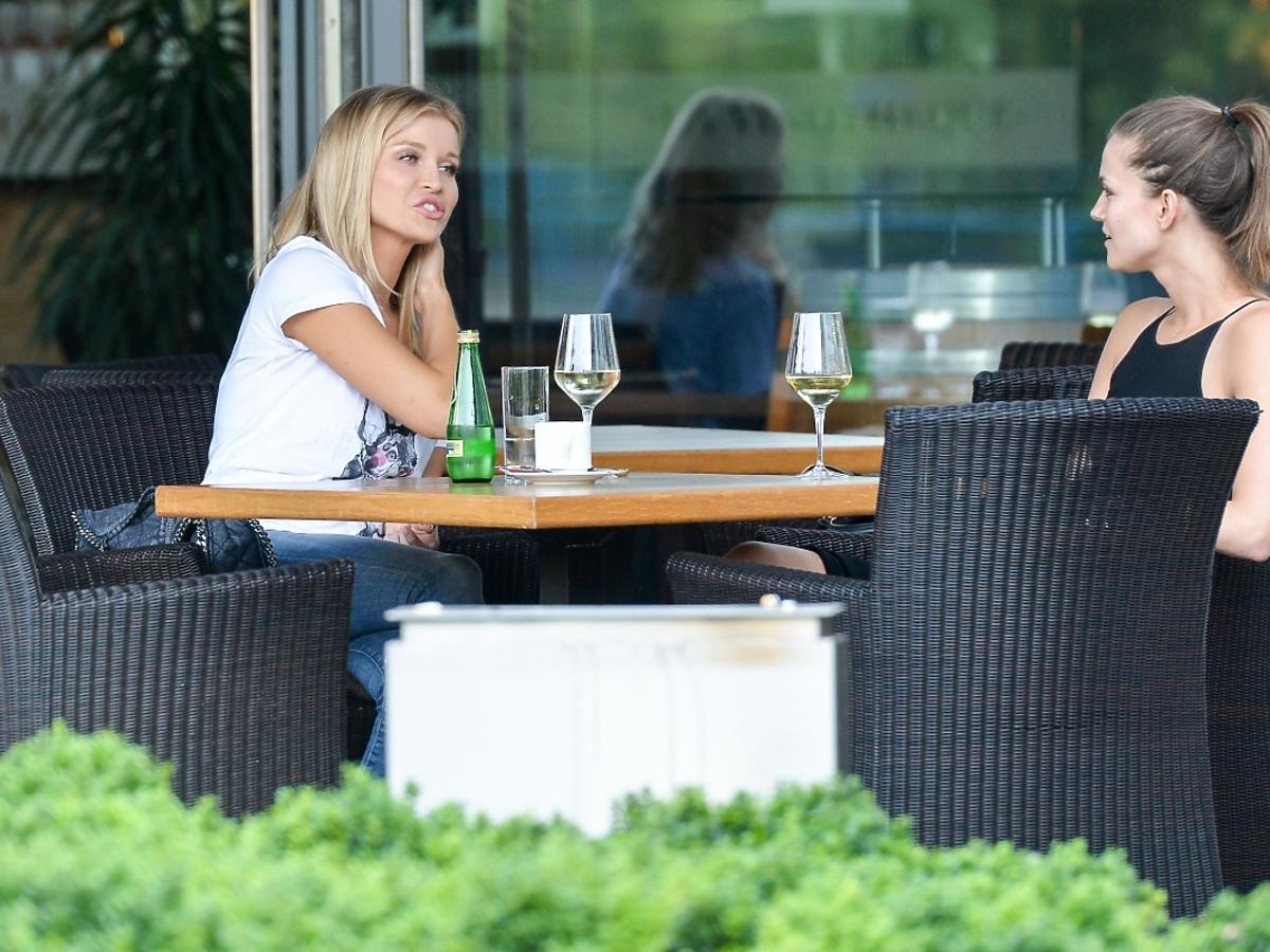 Joanna Krupa na lunchu z Kasią Struss