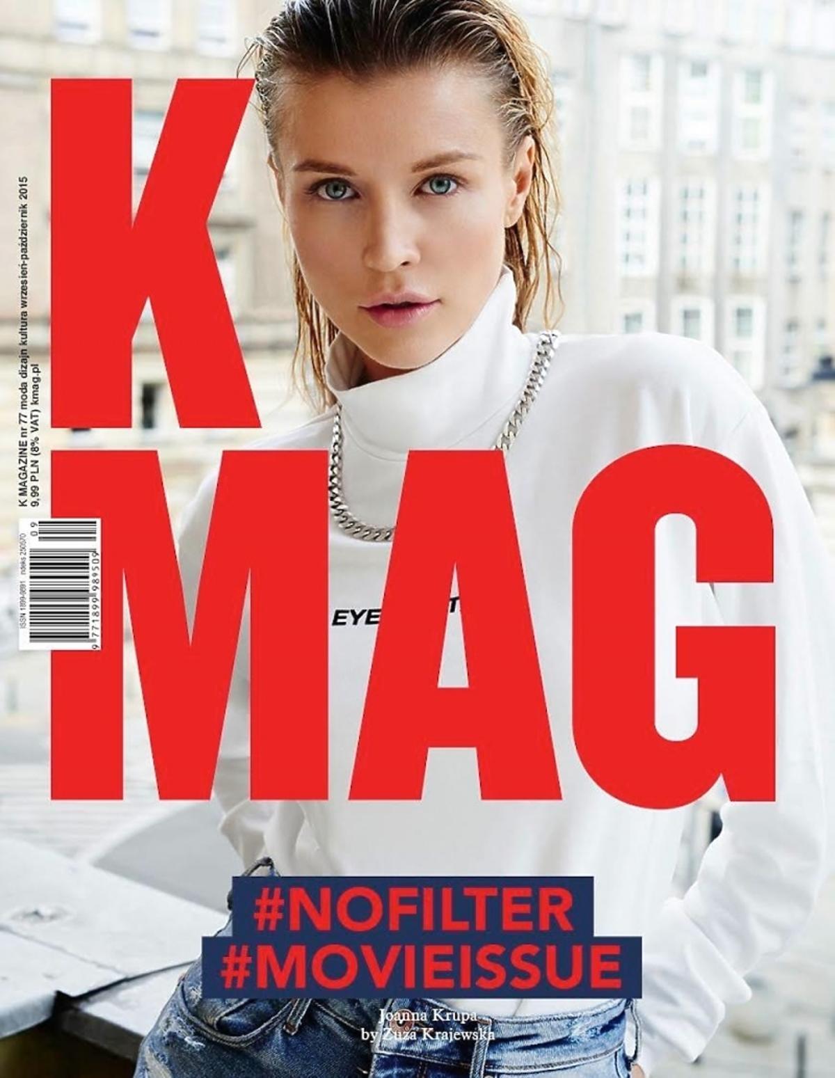 Joanna Krupa na okładce K MAG