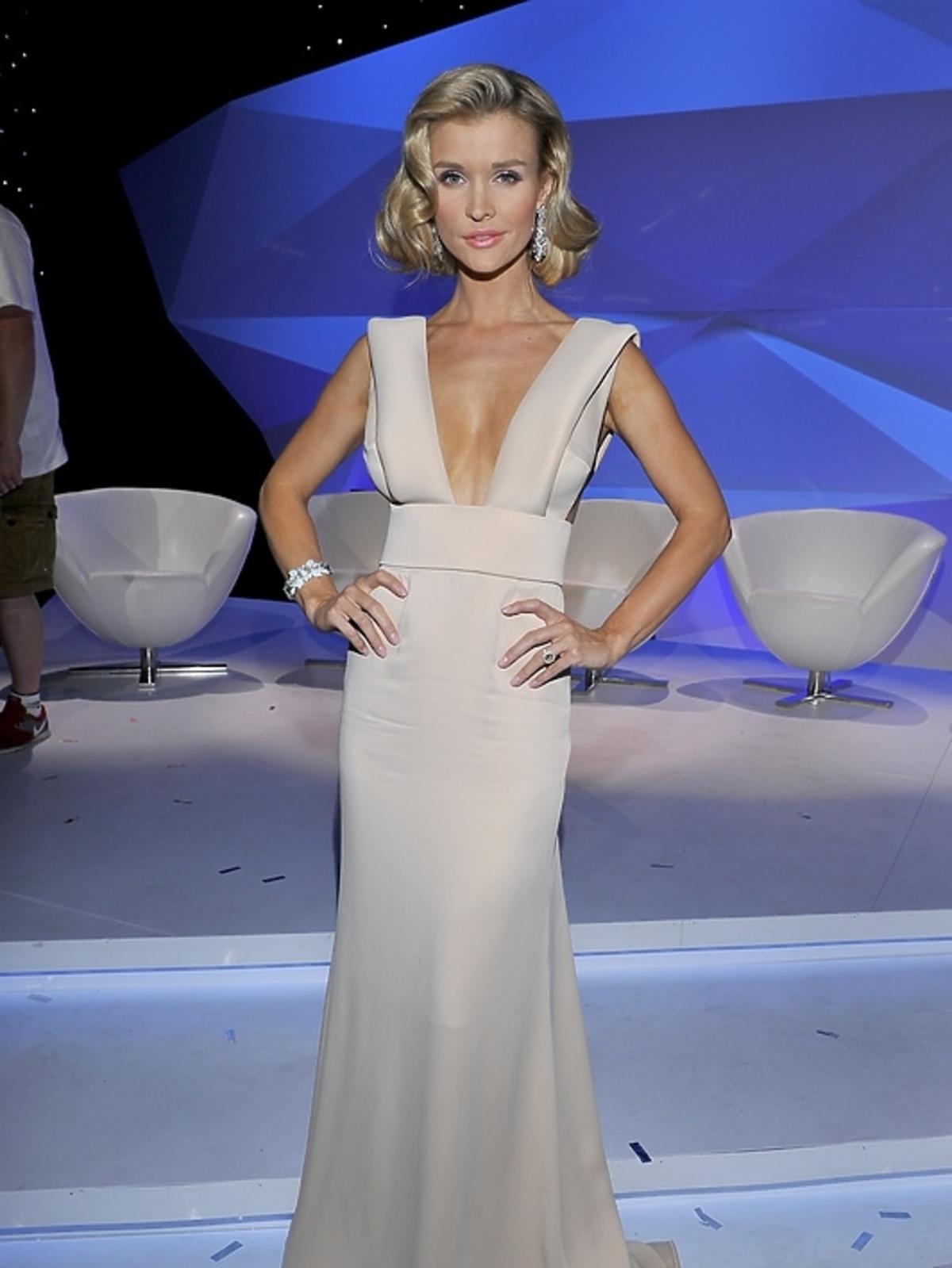 Joanna Krupa podczas finału Top Model 3