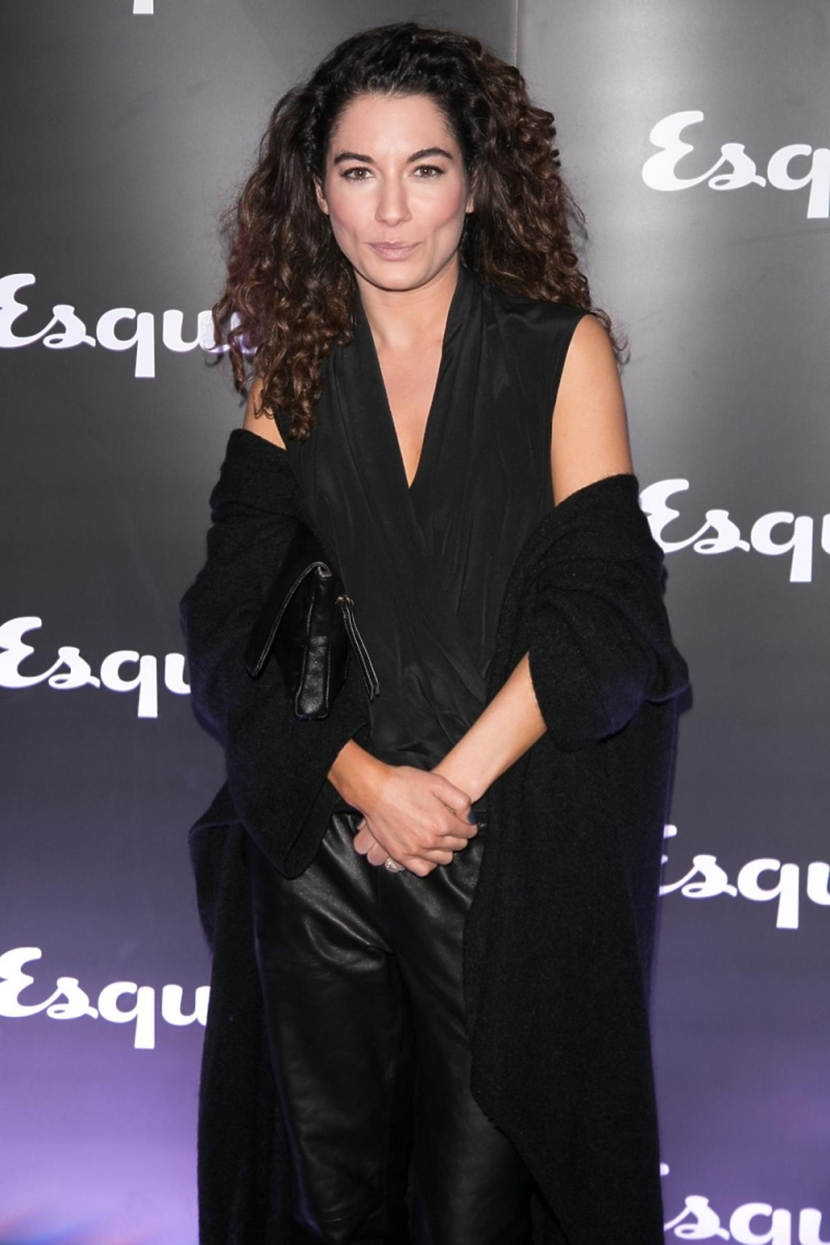 Julia Pogrebińska na imprezie magazynu Esquire