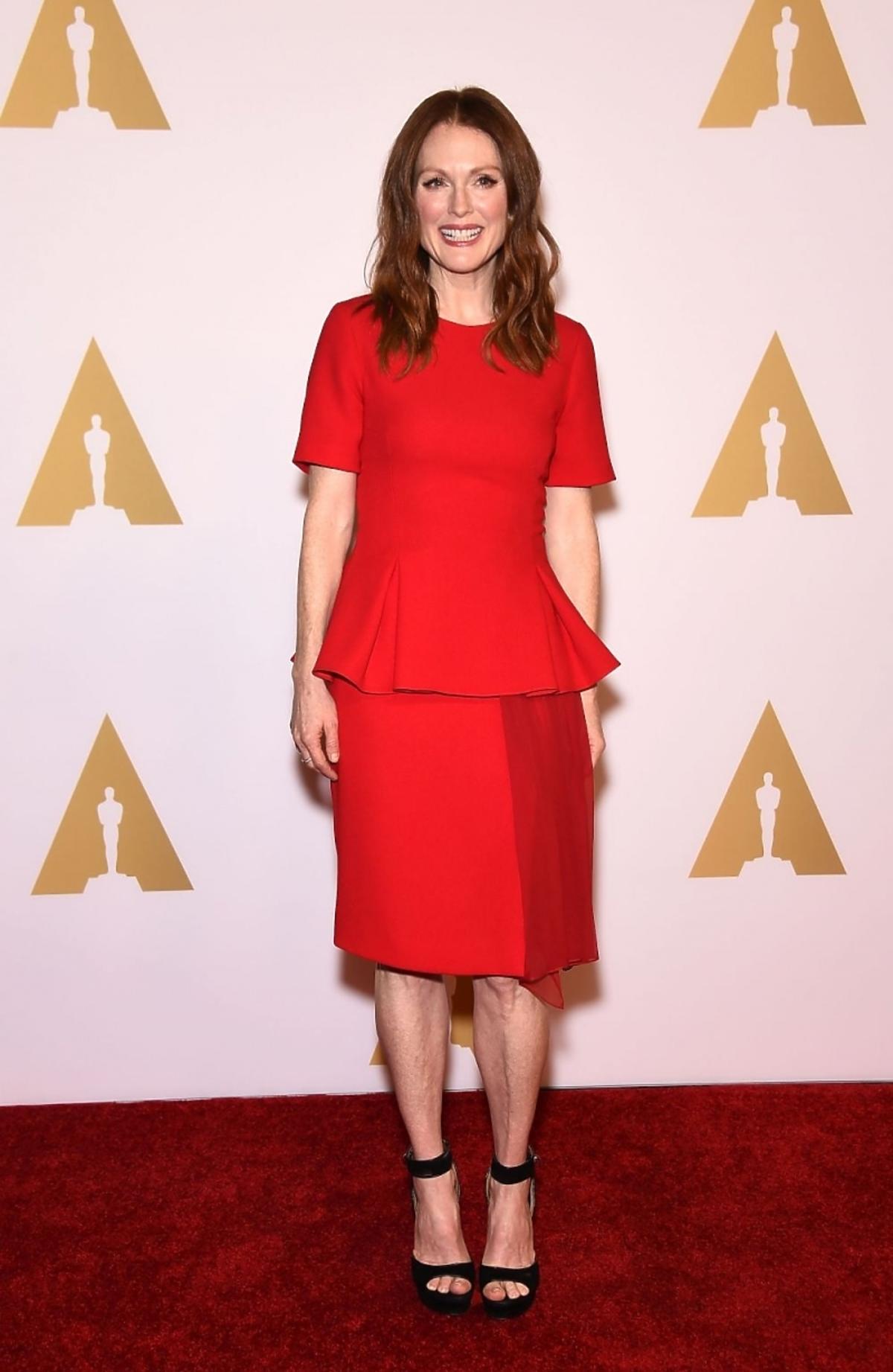 Julianne Moore na Oscar Nominees Luncheon