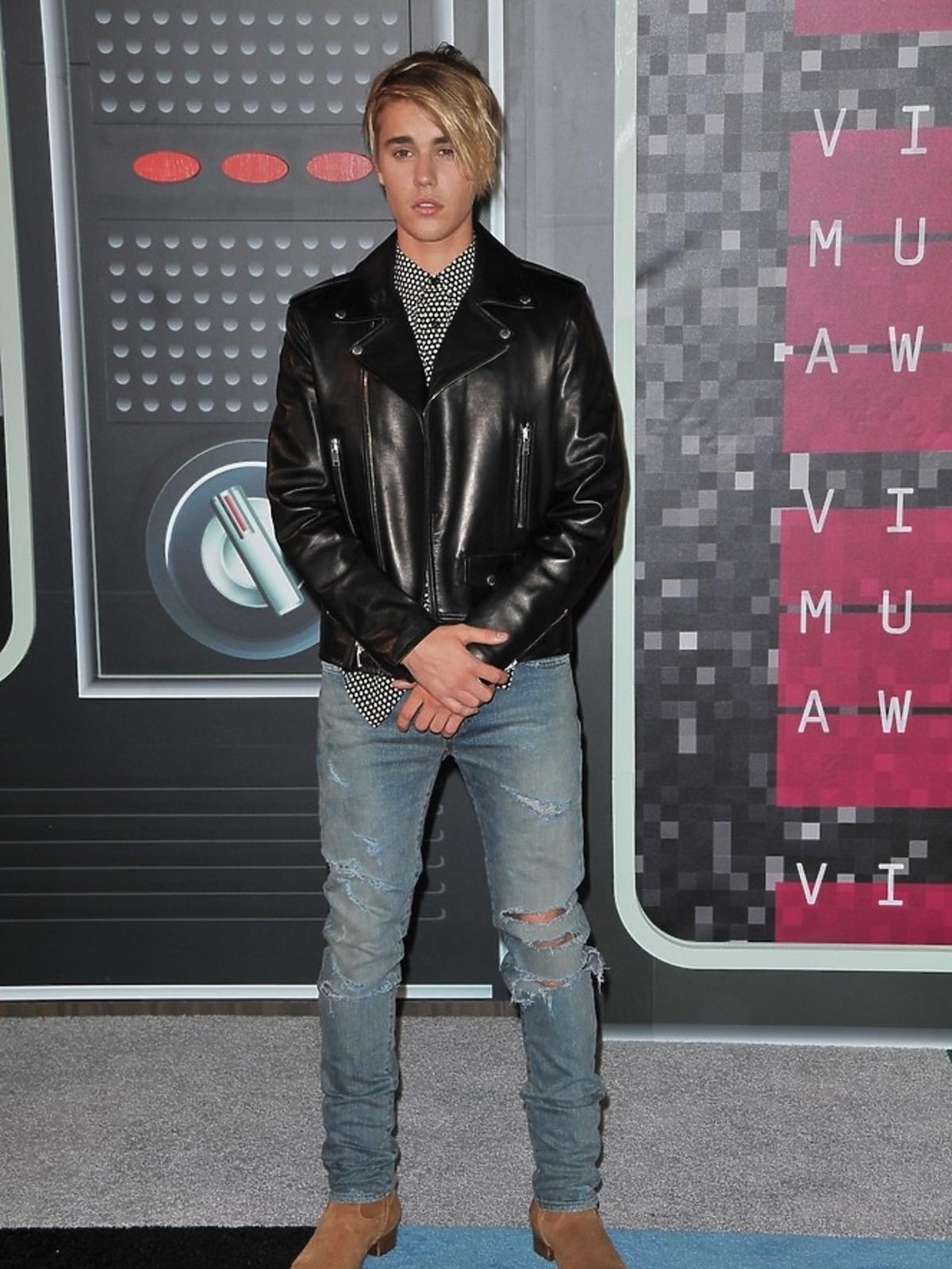 Justin Bieber na gali MTV Music Awards 2015