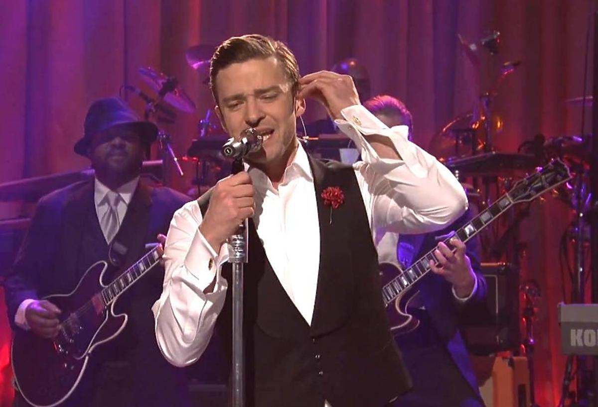 Justin Timberlake w Saturday Night Live