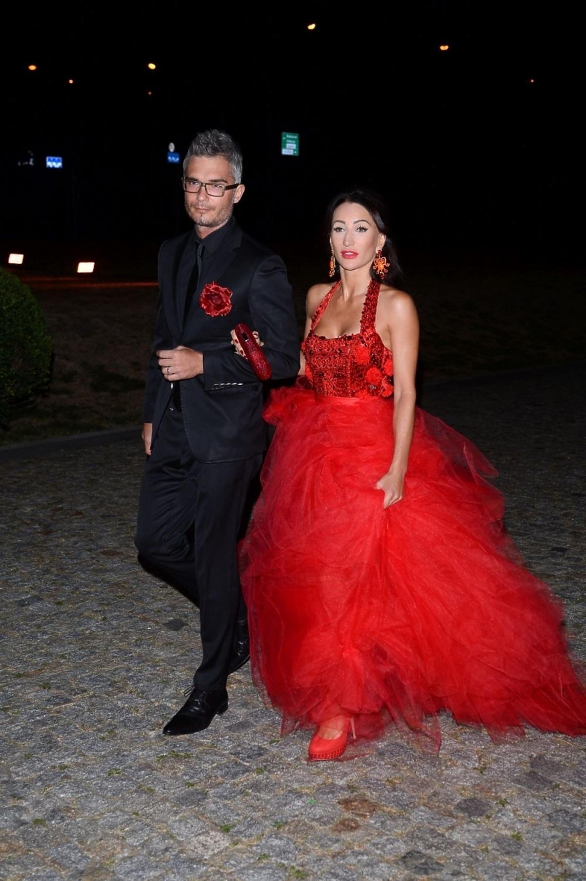 Justyna Steczkowska i Maciej Myszkowski na balu fundacji