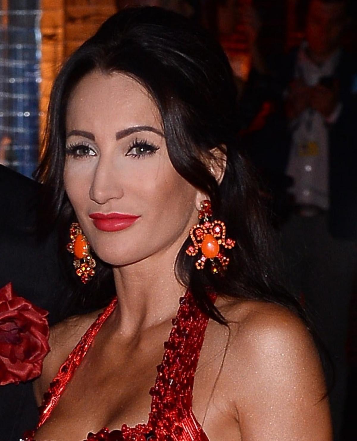Justyna Steczkowska na balu TVN
