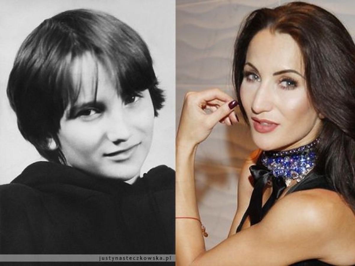 Justyna Steczkowska w dzieciństwie