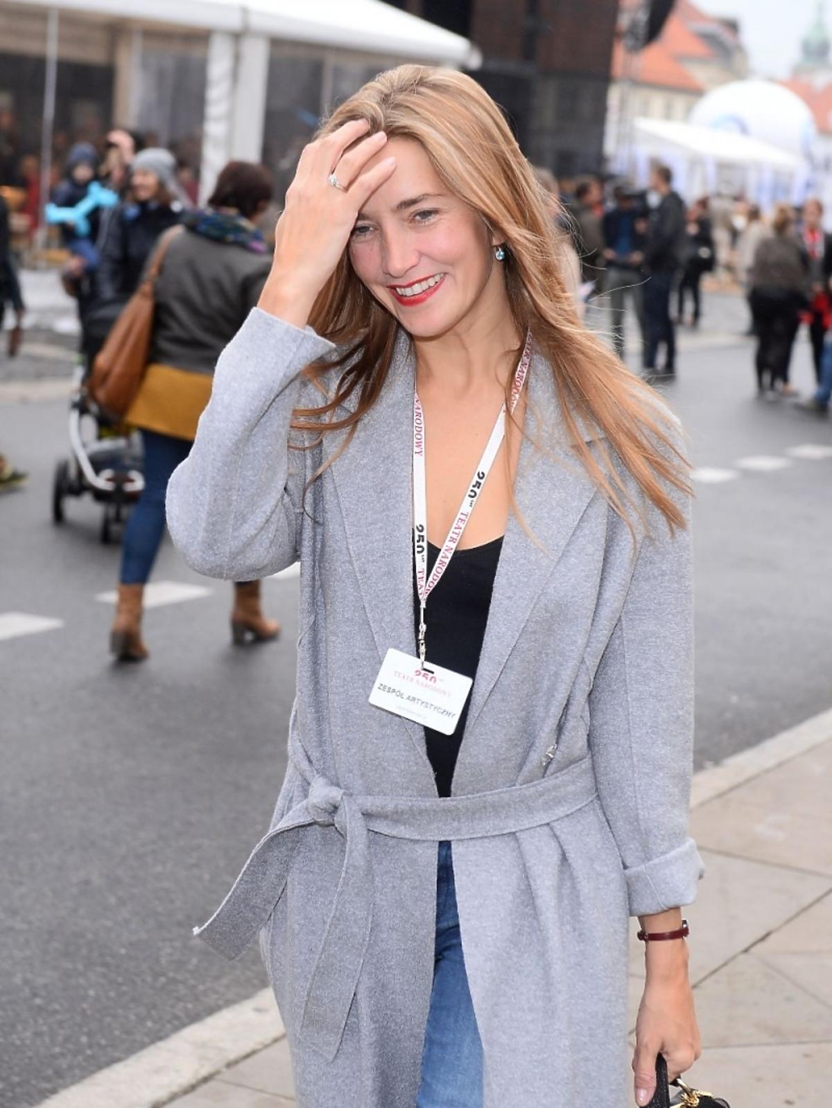 Kamilla Baar na Festiwalu Teatralnym