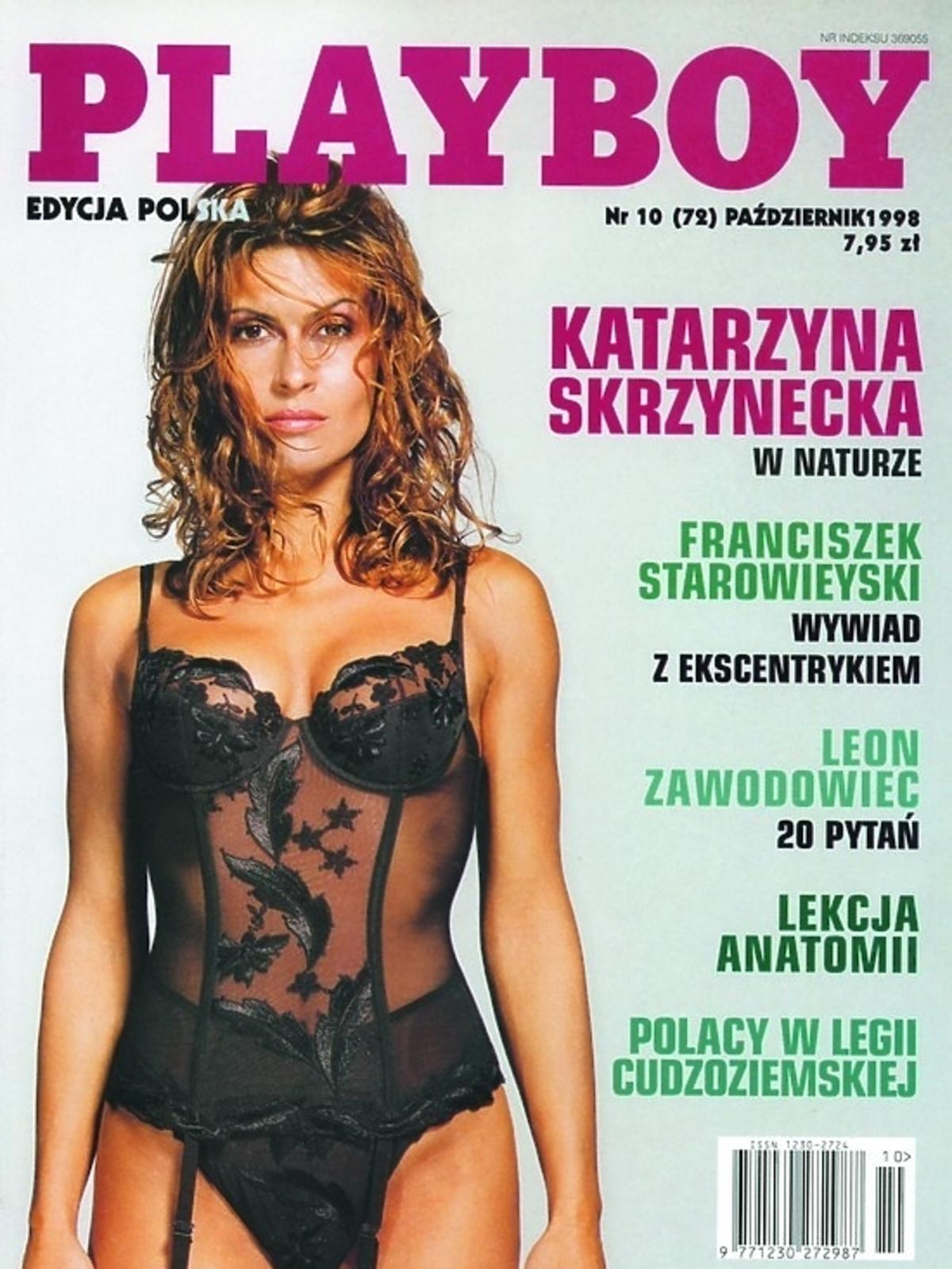 Katarzyna Skrzynecka na okładce Playboya