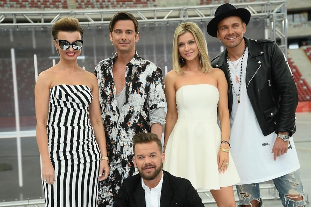 Katarzyna Sokołowska, Marcin Tyszka, Joanna Krupa, Dawid Woliński, Michał Piróg, casting do piątej edycji Top Model