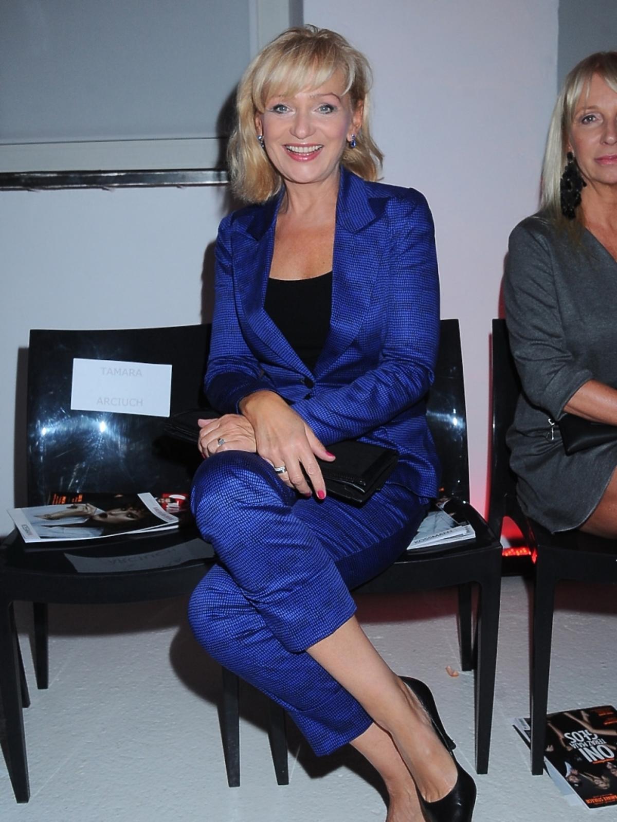 Katarzyna Żak na pokazie najnowszej kolekcji Kossmann