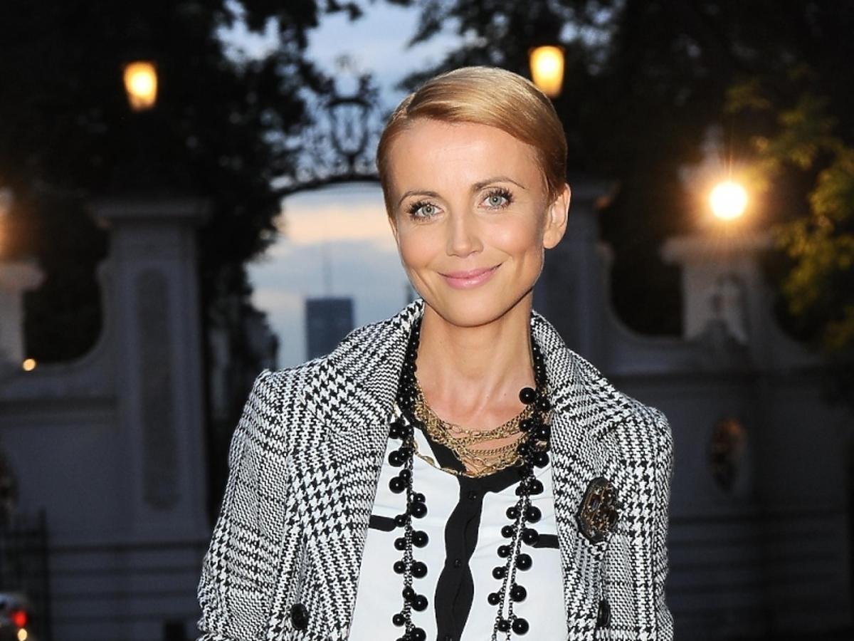 Katarzyna Zielińska na urodzinach Orsay
