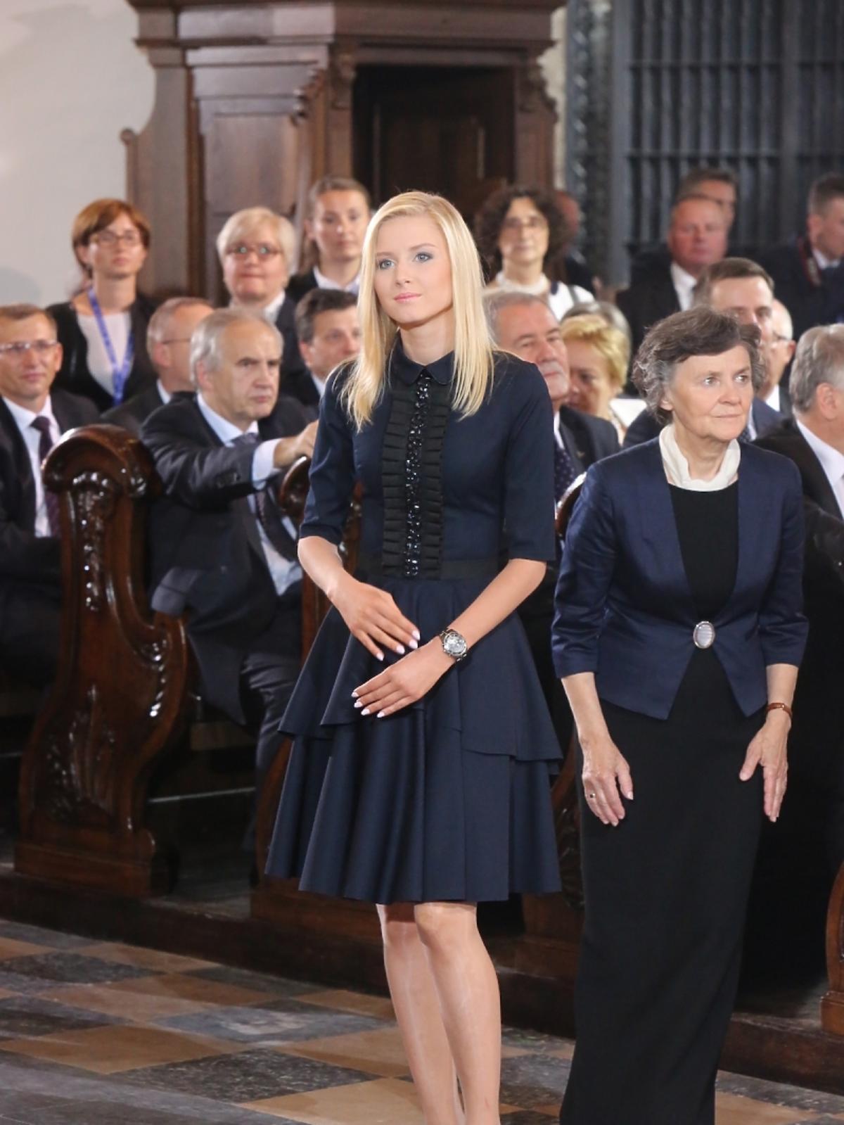 Kinga Duda na zaprzysiężeniu prezydenta Andrzeja Dudy