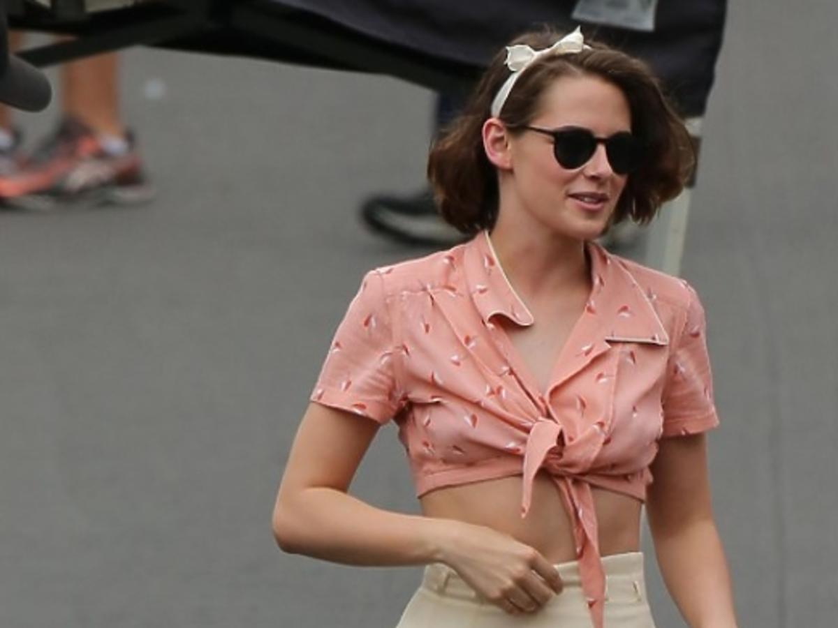 Kristen Stewart na planie nowego filmu Woody'ego Allena