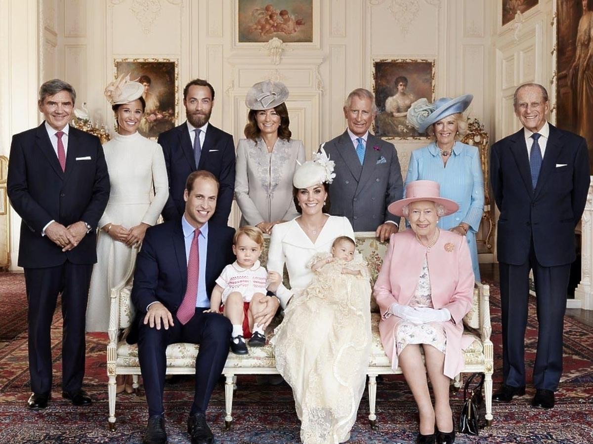 Księżna Kate - chrzest księżnej Charlotte