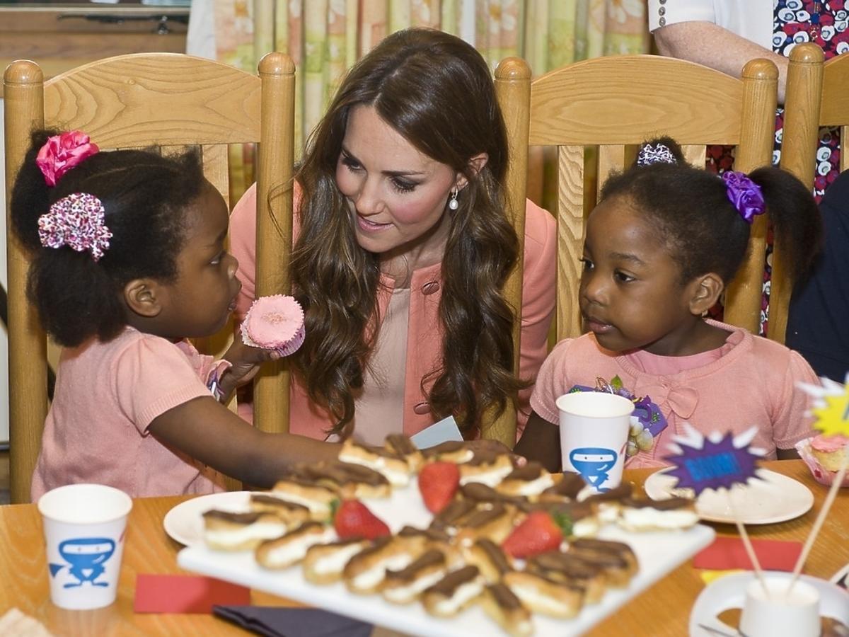 Księżna Kate - pomoc charytatywna